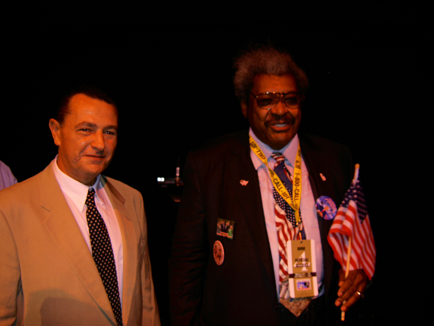 Don King and Vladimir Nazarov