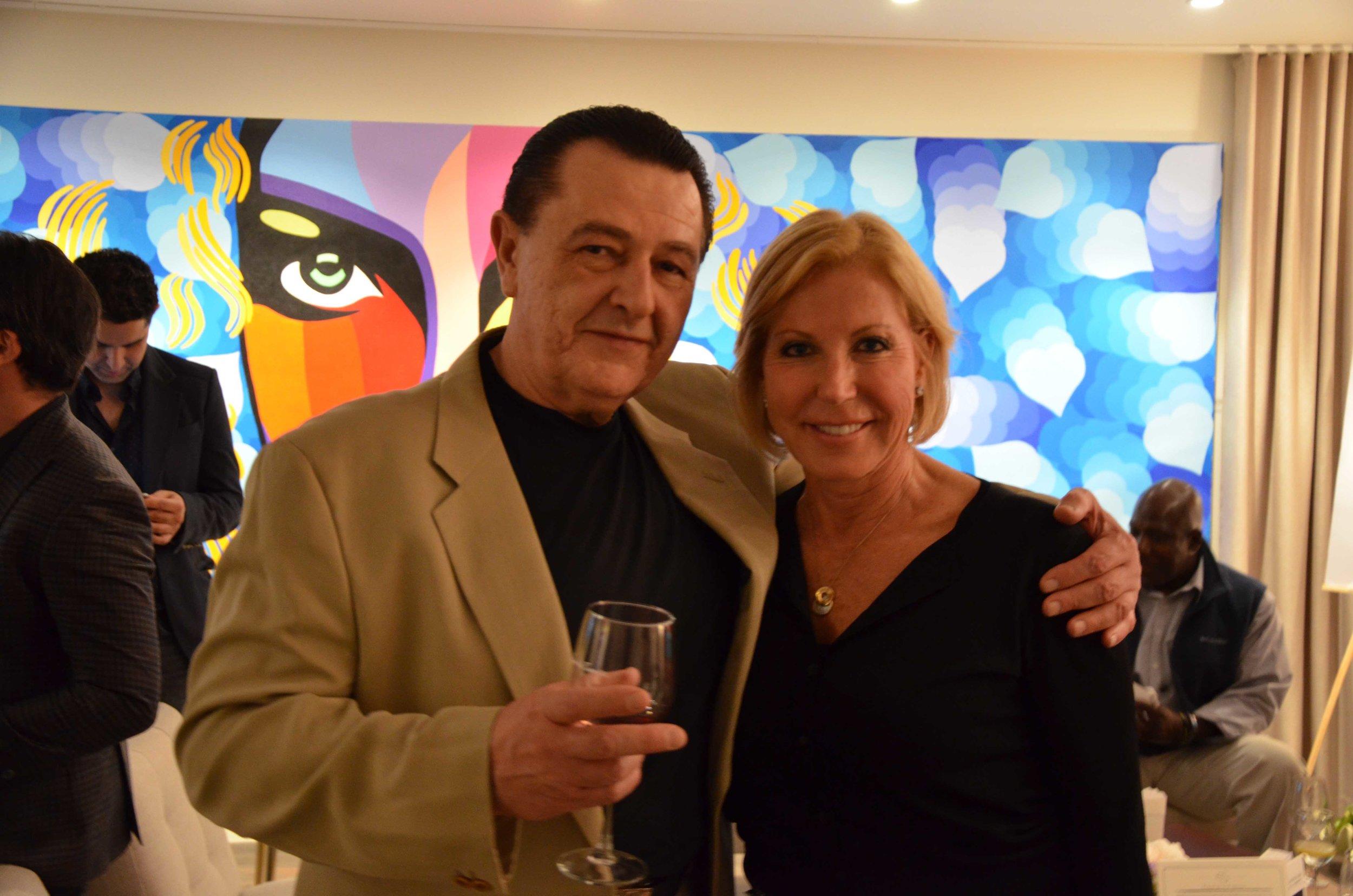 Dr. Erika Schwartz and Vladimir Nazarov