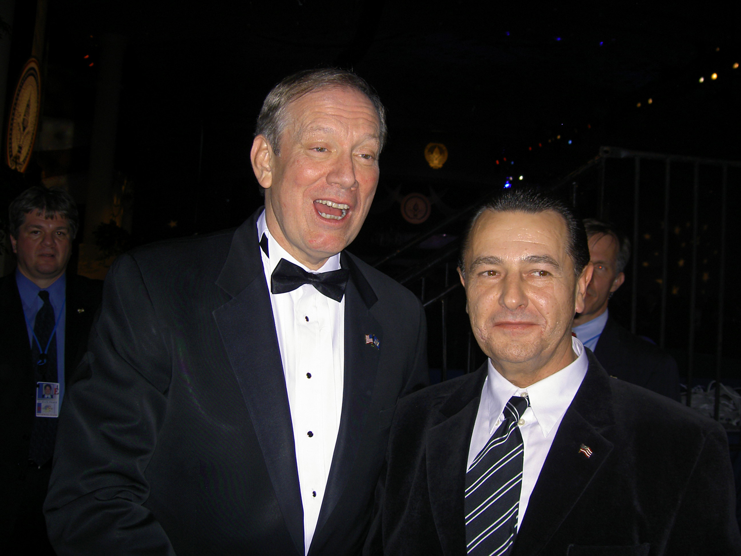 Governor George Pataki and Vladimir Nazarov