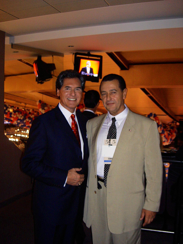 Ernie Anastos and Vladimir Nazarov