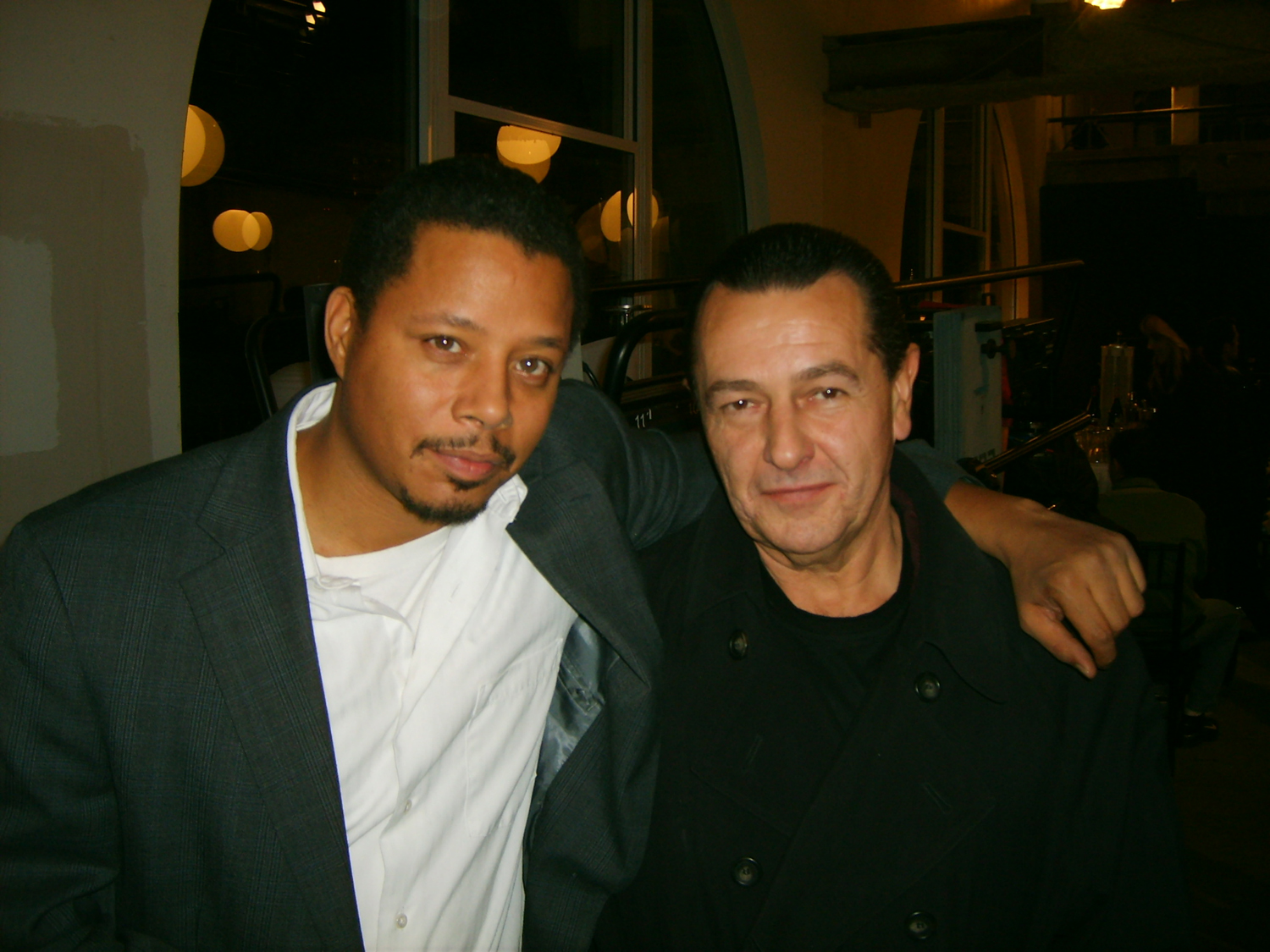 Terrence Howard and Vladimir Nazarov