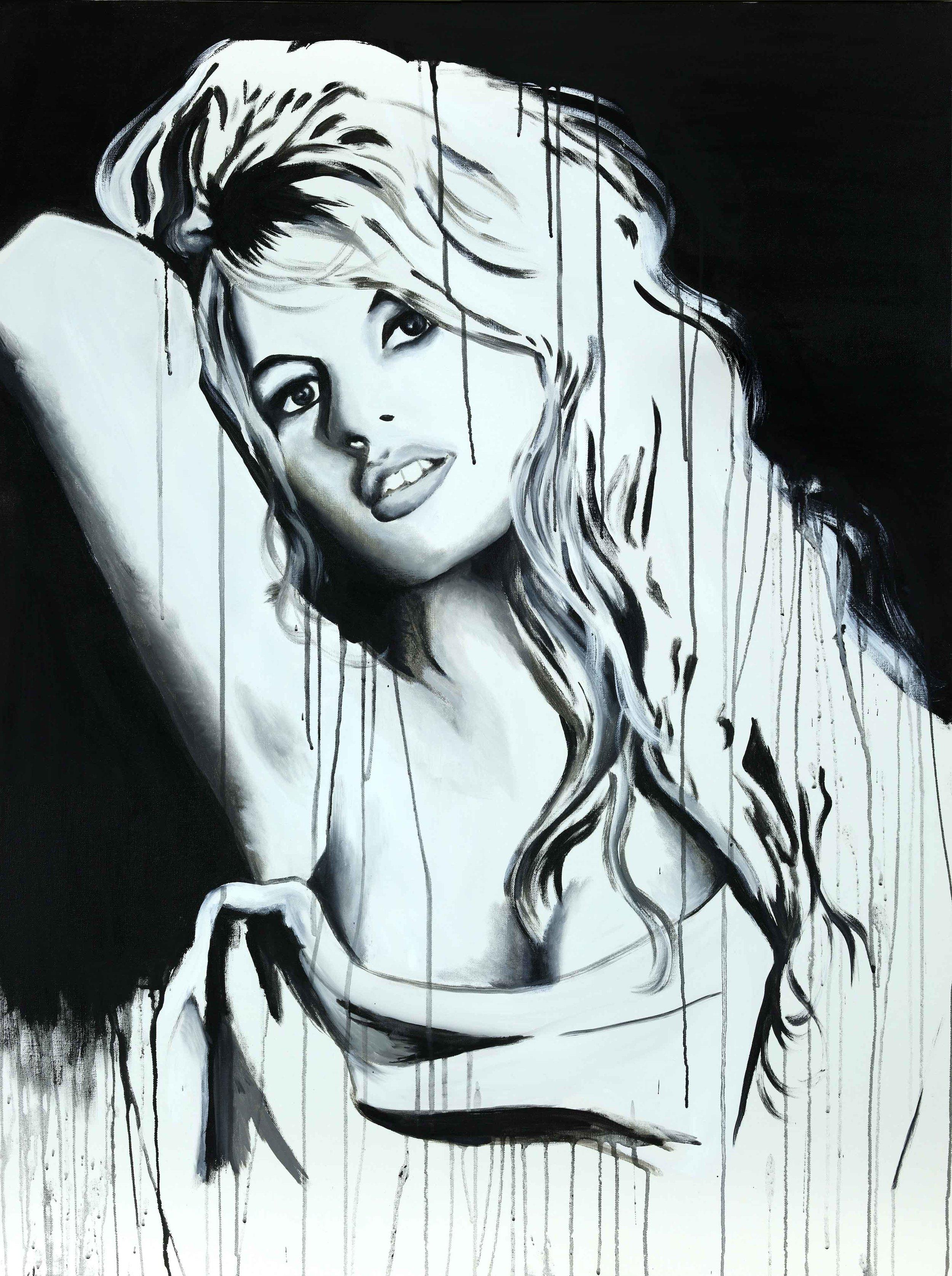 "Bardot 48""H x 36""W"