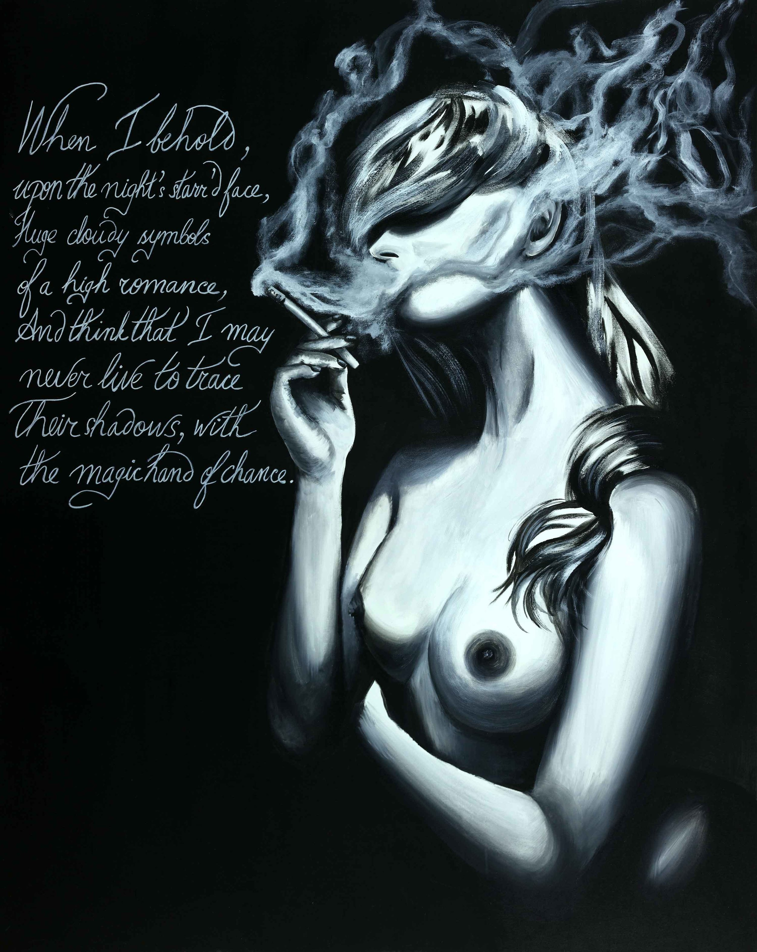 """When The Smoke Clears 60""""H x 48""""W"""