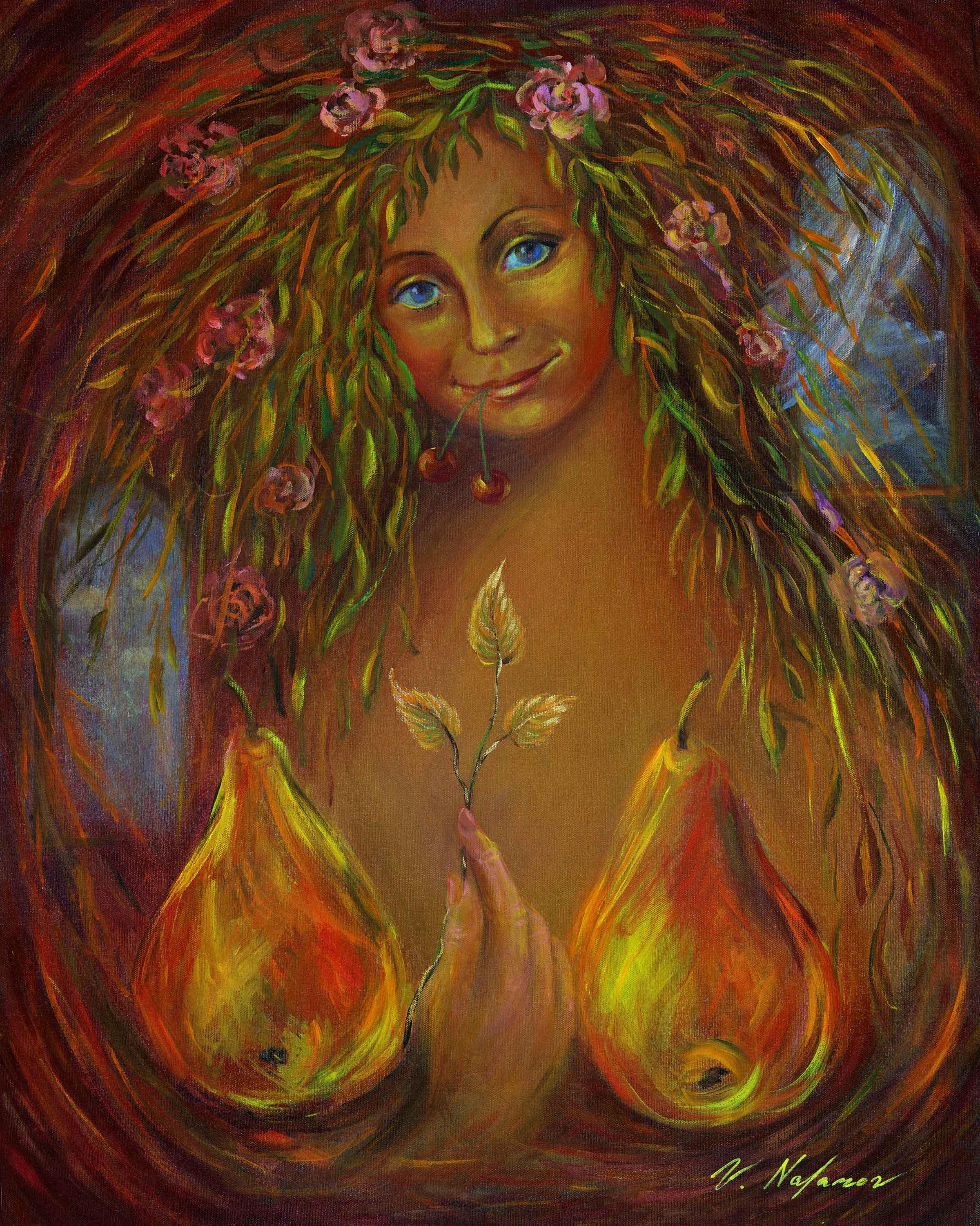 """Goddess (3) 30""""H x 24""""W"""