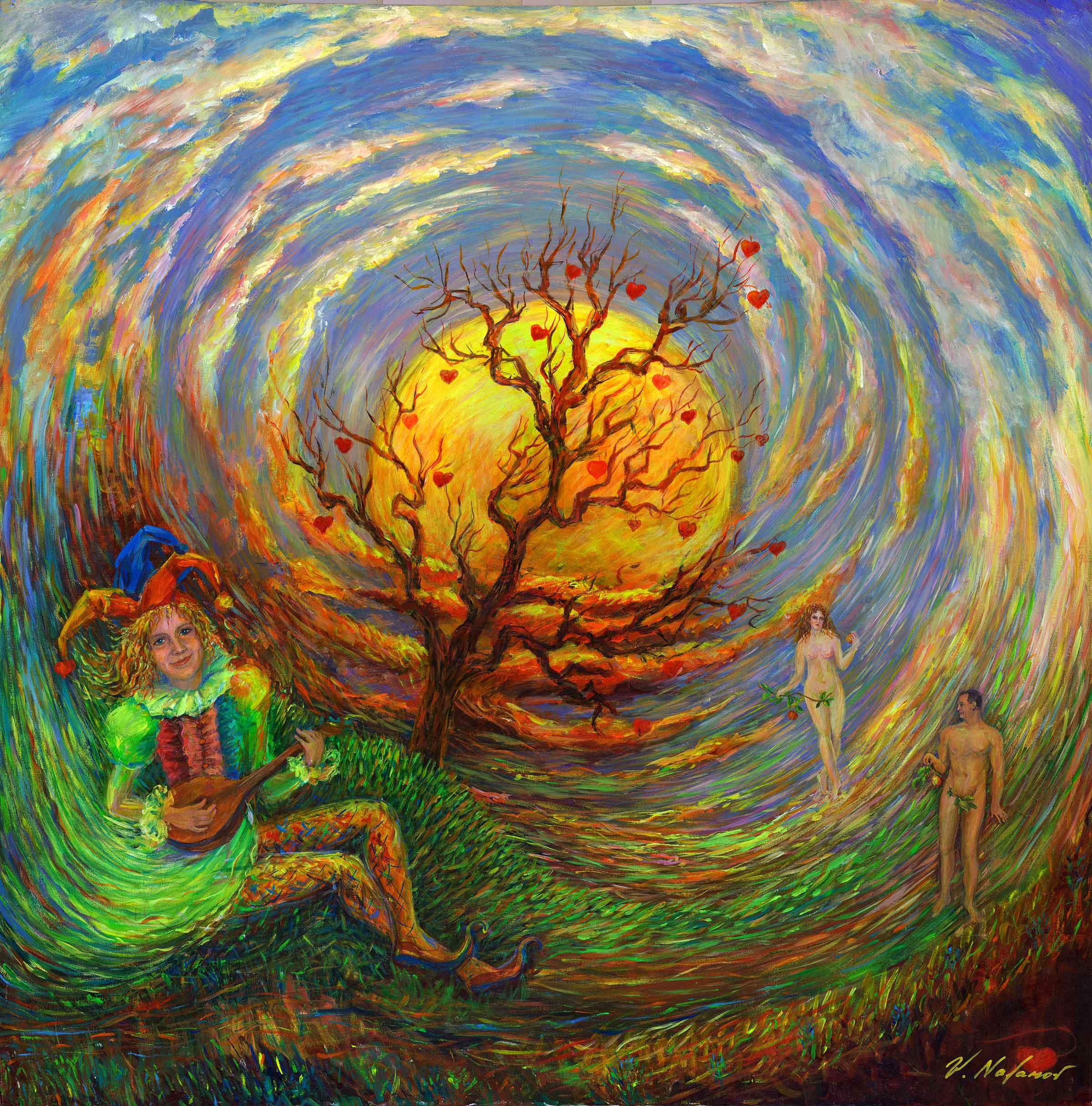 "Tree Of Life 48""H x 48""W"