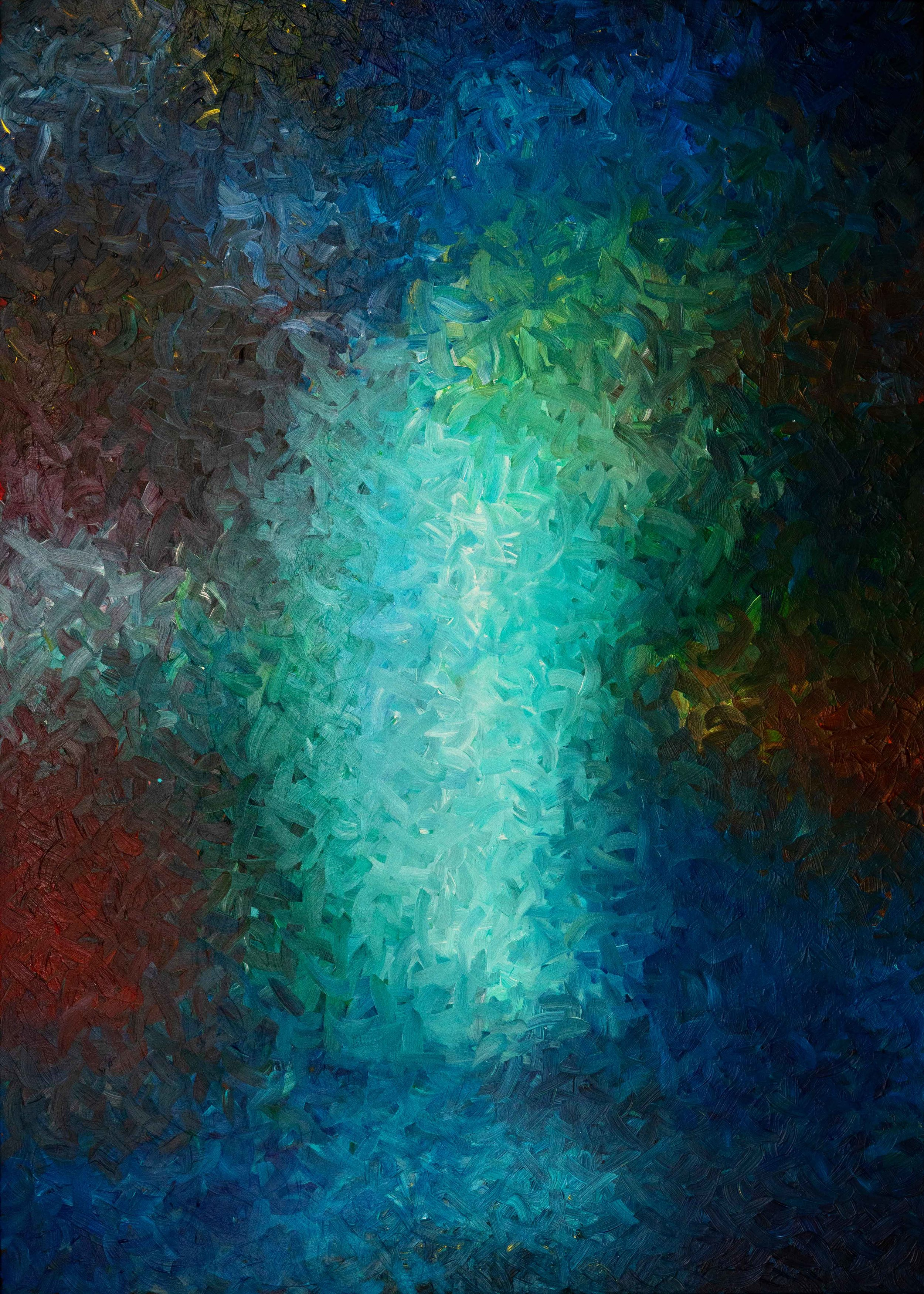 """The Space Between The Stars 84""""H x 60""""W"""
