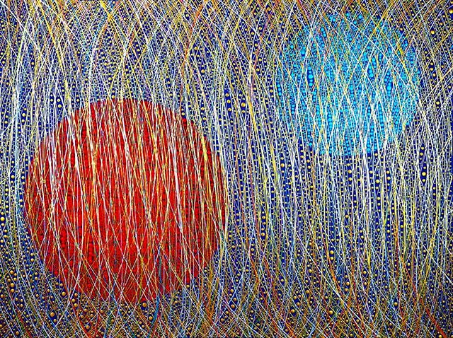 "Make it last ""Carved So Deep It Never Fades"" 72""H x 96""W  From the Divine Intervention Series  #art #painting #abstractart #abstraction #spots #fineart #artadvisory #artadvisor #artcollecting #artcollector #collectingart #artconsultant #artlover #artworld #interiordesign #interiordesigner #vladimirnazarov #artgallery"