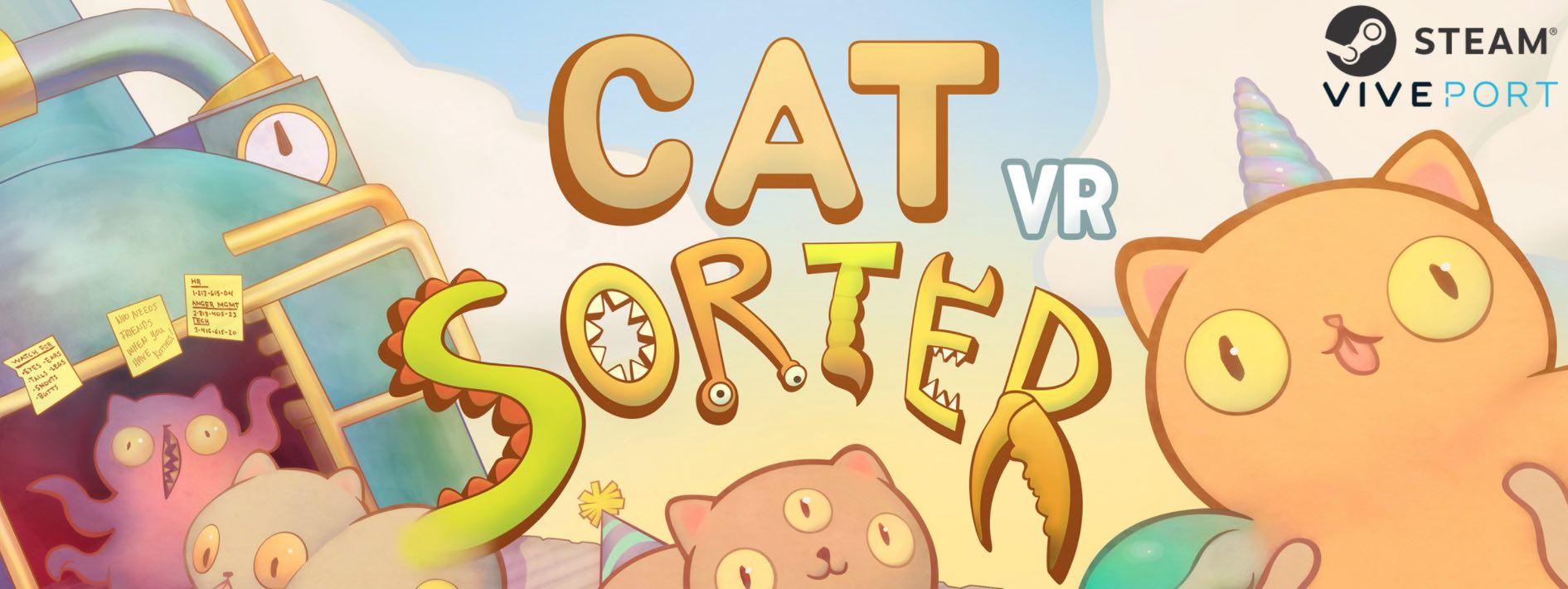 Cat Sorter VR Banner - Pyramind