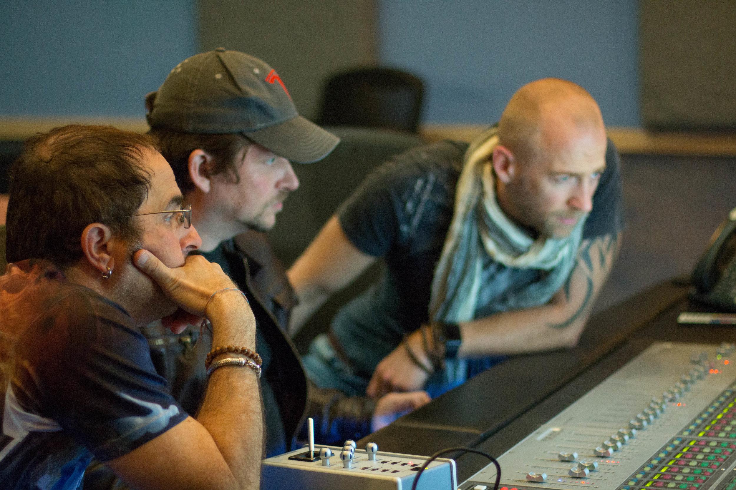Left to right: Greg Gordon, Bryan Franklin & Rain Phutureprimitive