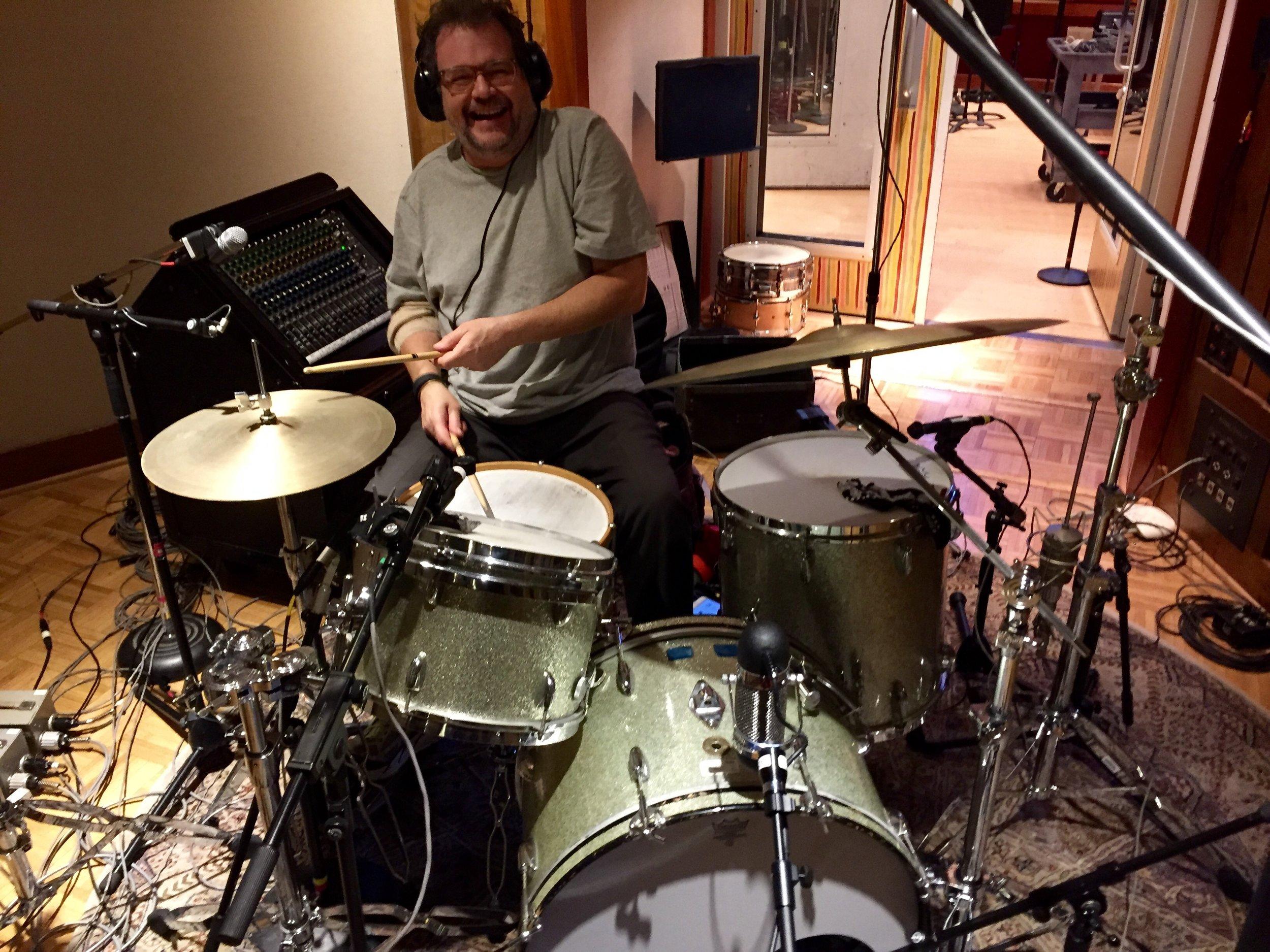 "Paul Griffith, drums ""Highway 79"" Blackbird Studios"