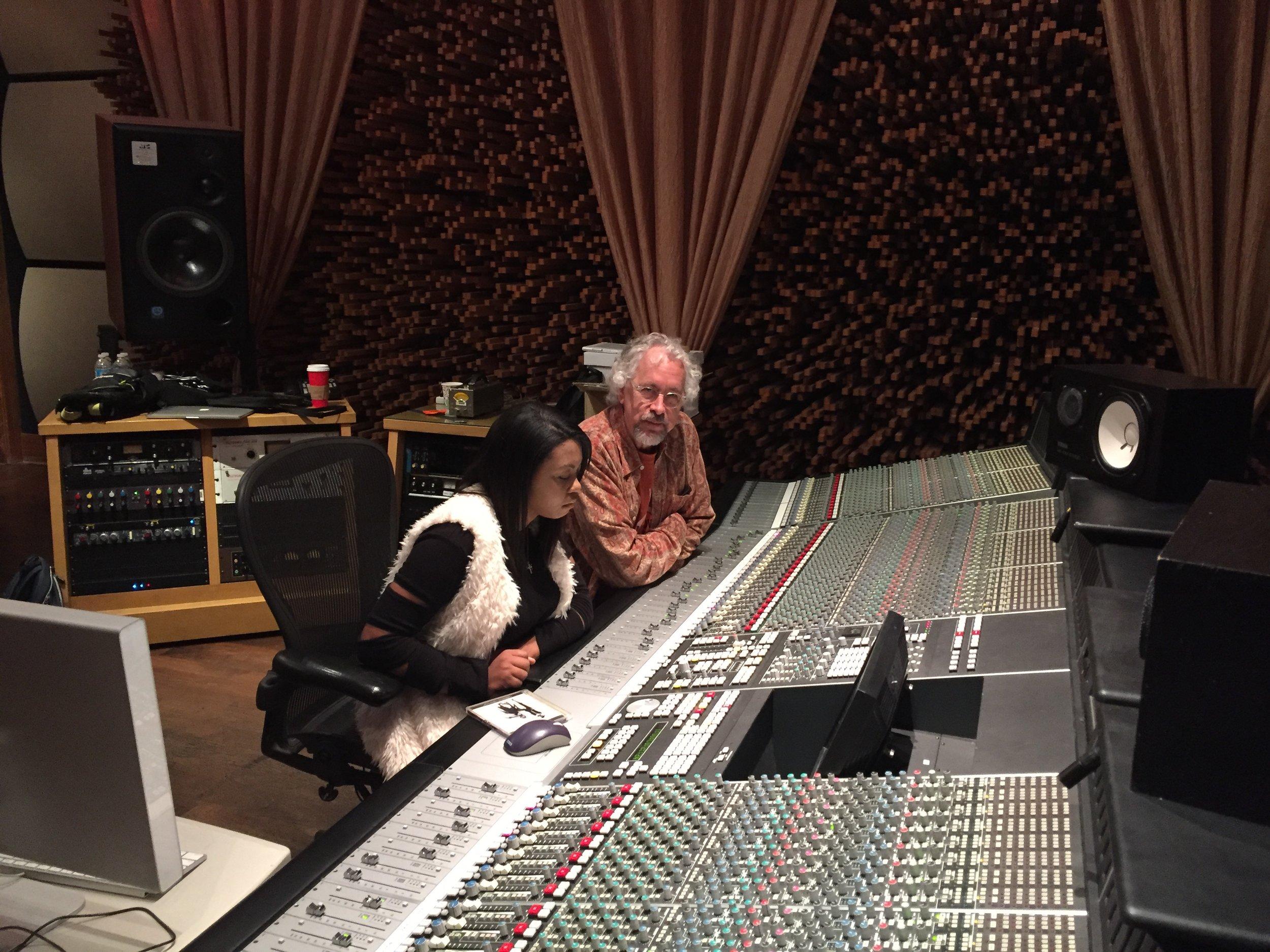 Sarina-Joi Crowe and Rick Clark - Disco Slam sessions, Blackbird Studios
