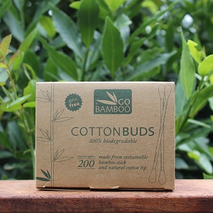 Biodegradable Bamboo Cotton Tips