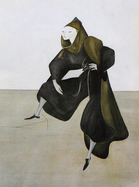 Valentina by Isamu Noguchi, Harper's Bazaar, March 1937