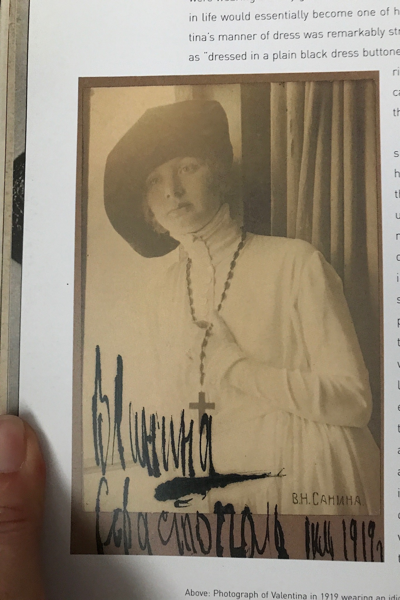 Valentina, 1919