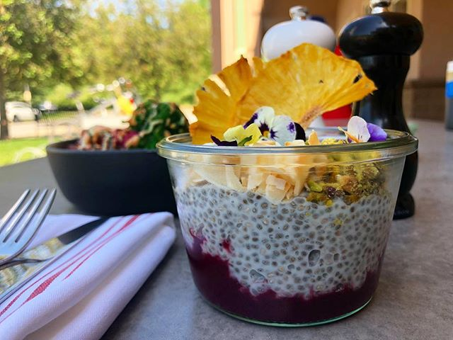 It's a beautiful day to enjoy some good ol' ch-ch-chia pudding, of course made with love 💖 get it solo or on our breakfast board all weekend long! . . . #five5eeds #fiveseeds #parkcity #parkcityutah #parkcityfood #brunch #parkcitybrunch #utah #utahbrunch #saltlakecity #chiapudding #dishingPC #foodie #foodporn #rainbow #housemade #fromscratch