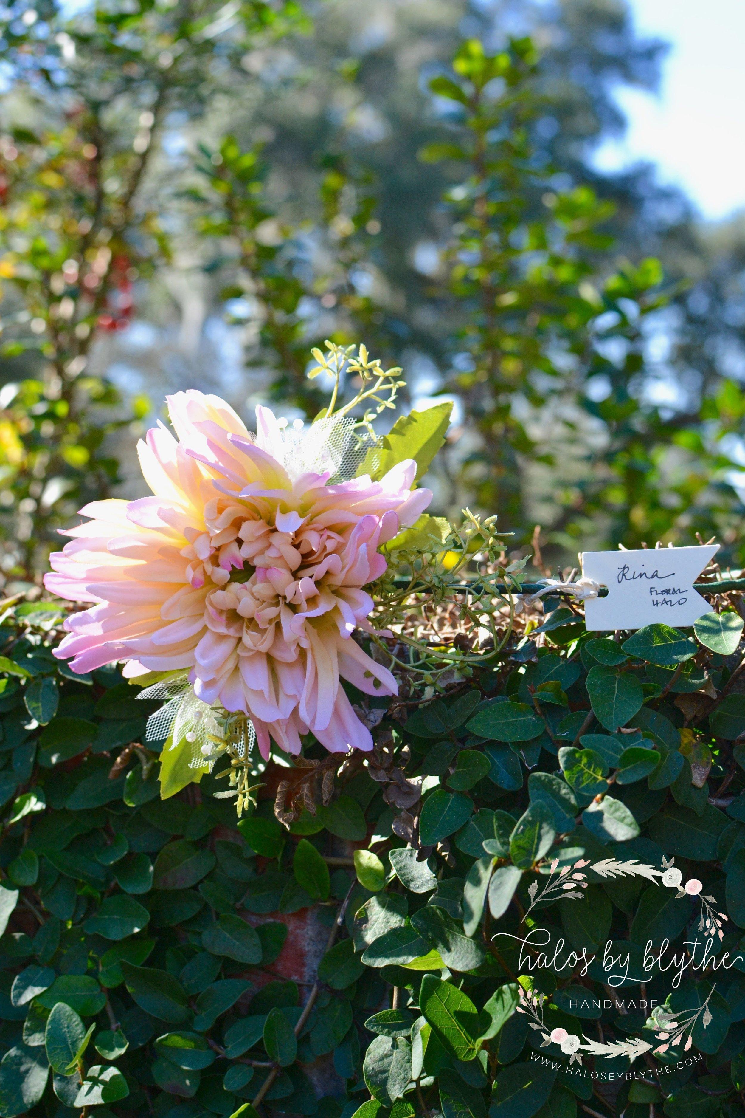 Rina Floral Halo