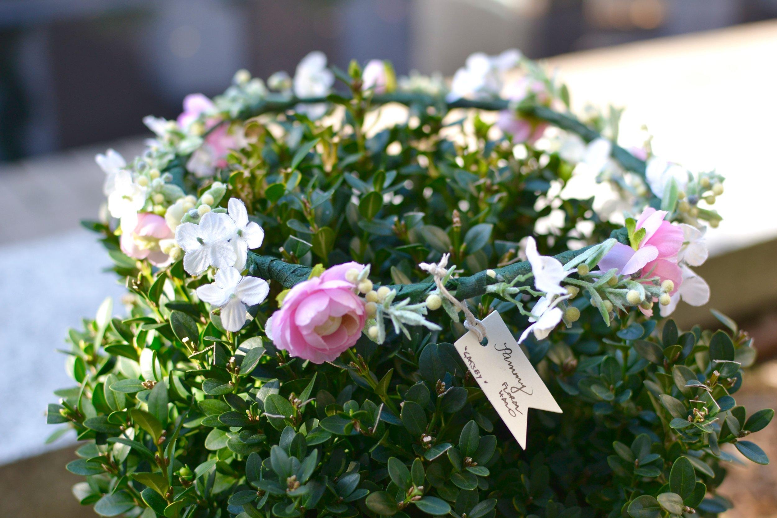 Pammy Floral Halo