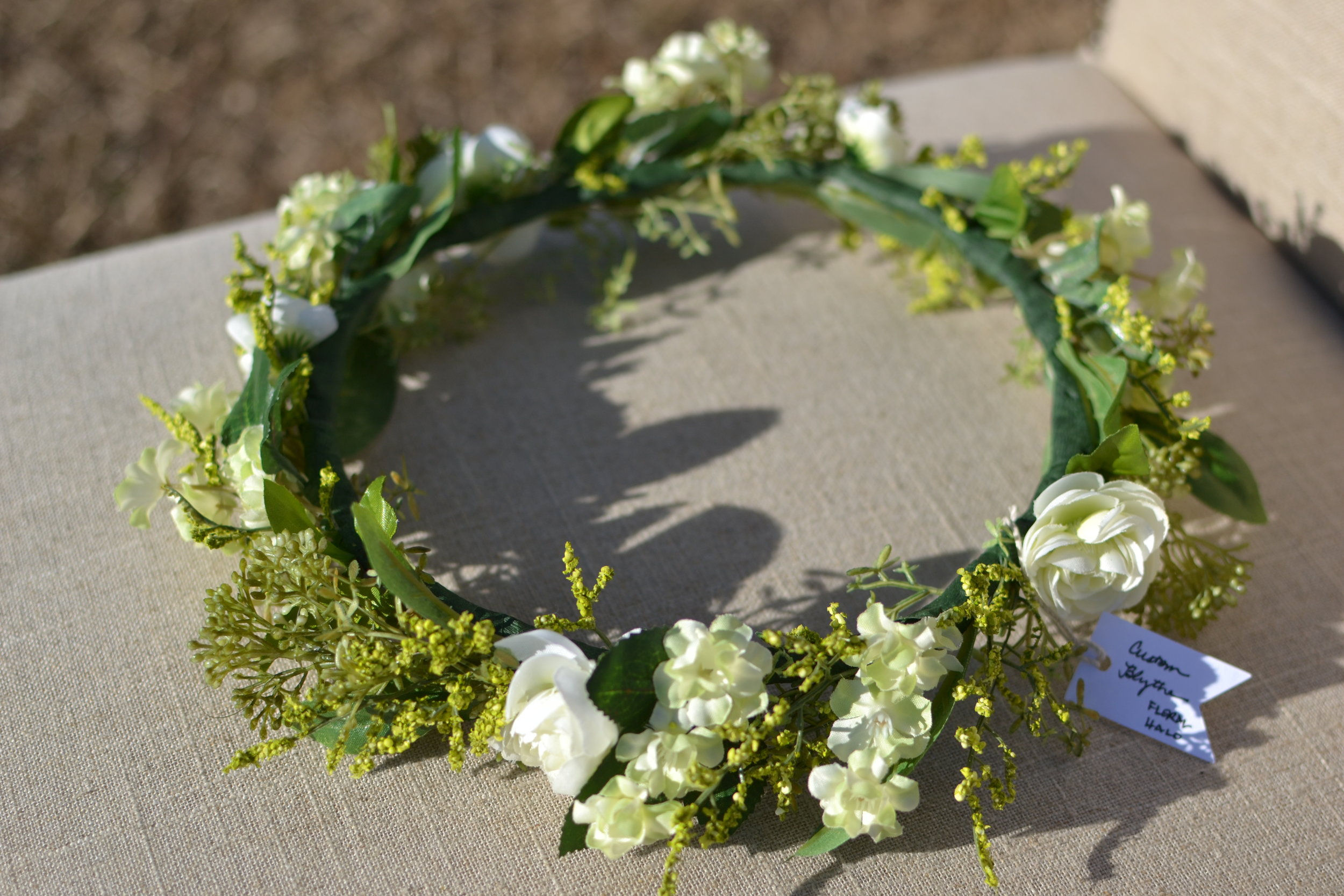 Carolina Forest Floral Halo