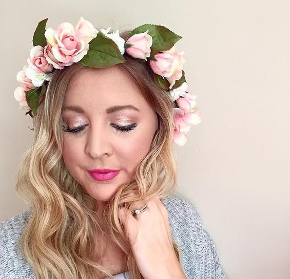 Madison Floral Halo