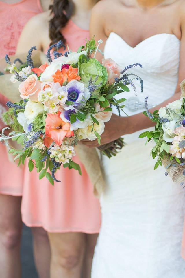 Photo by  Lindsey LaRue Photography  | Flowers by  All Occasion Flowers