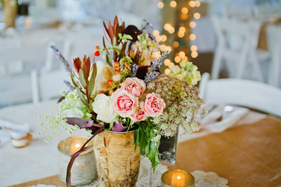 Photo by  River West Photography  | Flowers by  All Occasion Flowers