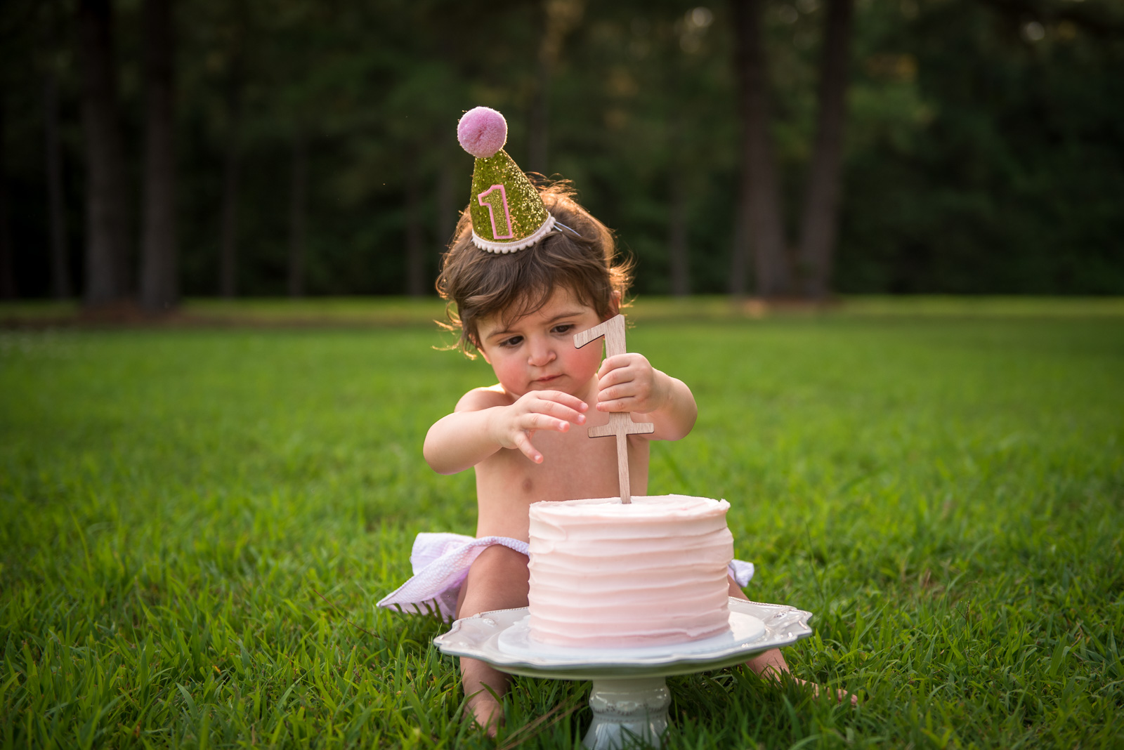 First Year Photo Session with Cake Smash