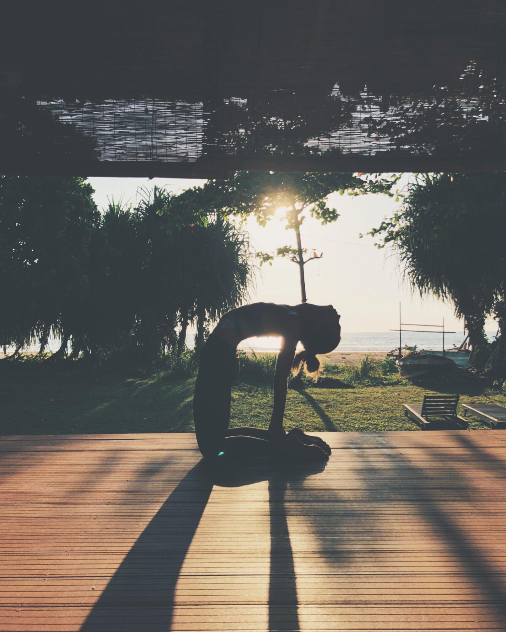 Sunrise Yoga at Talalla