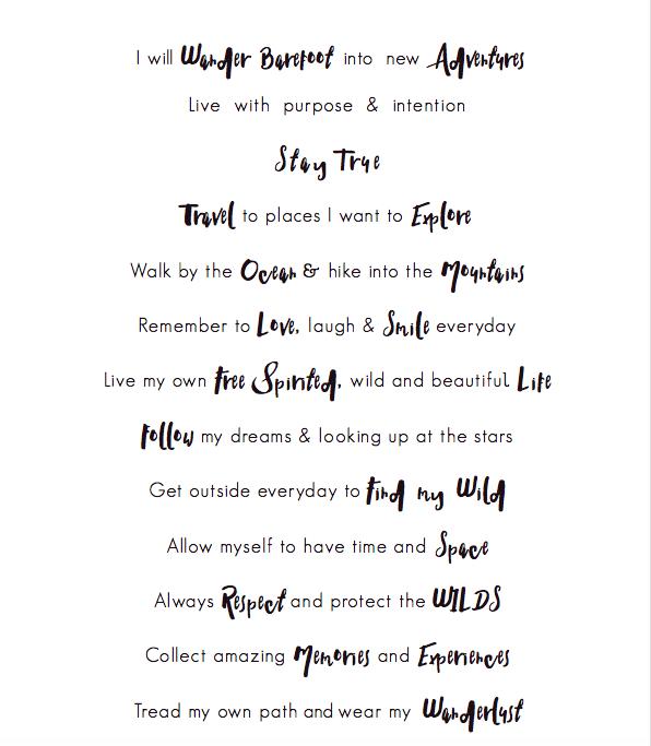 Spindrift's Motto and Manifesto by Tasha Wakefield