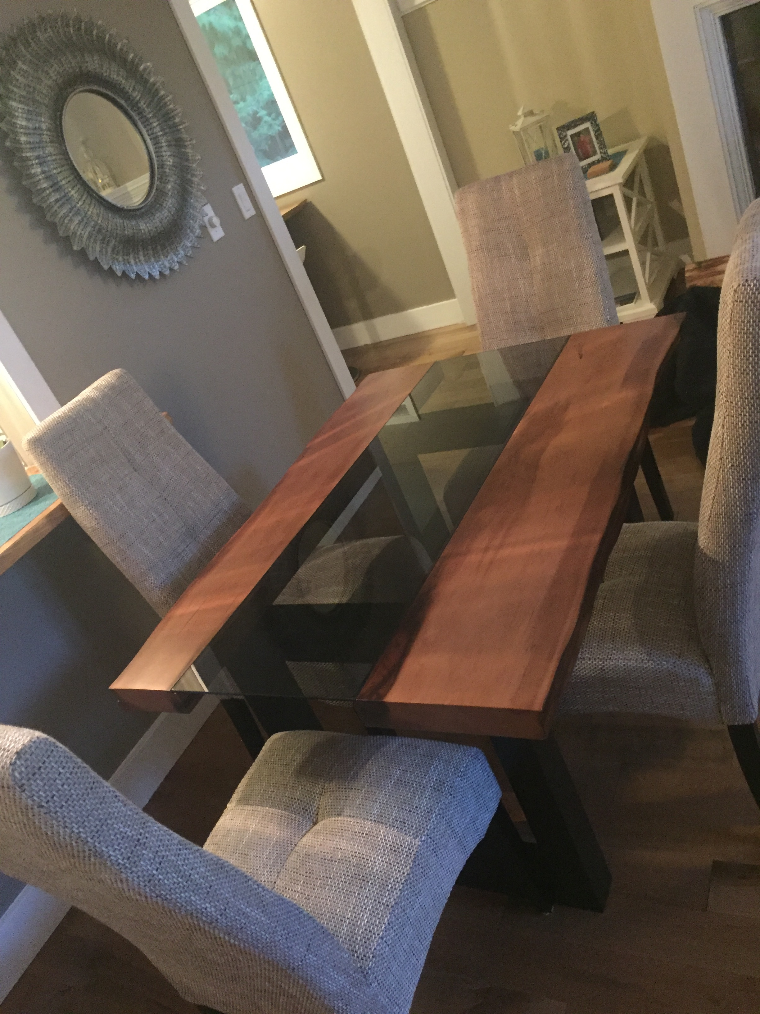 Junior Silhouette Cedar Table