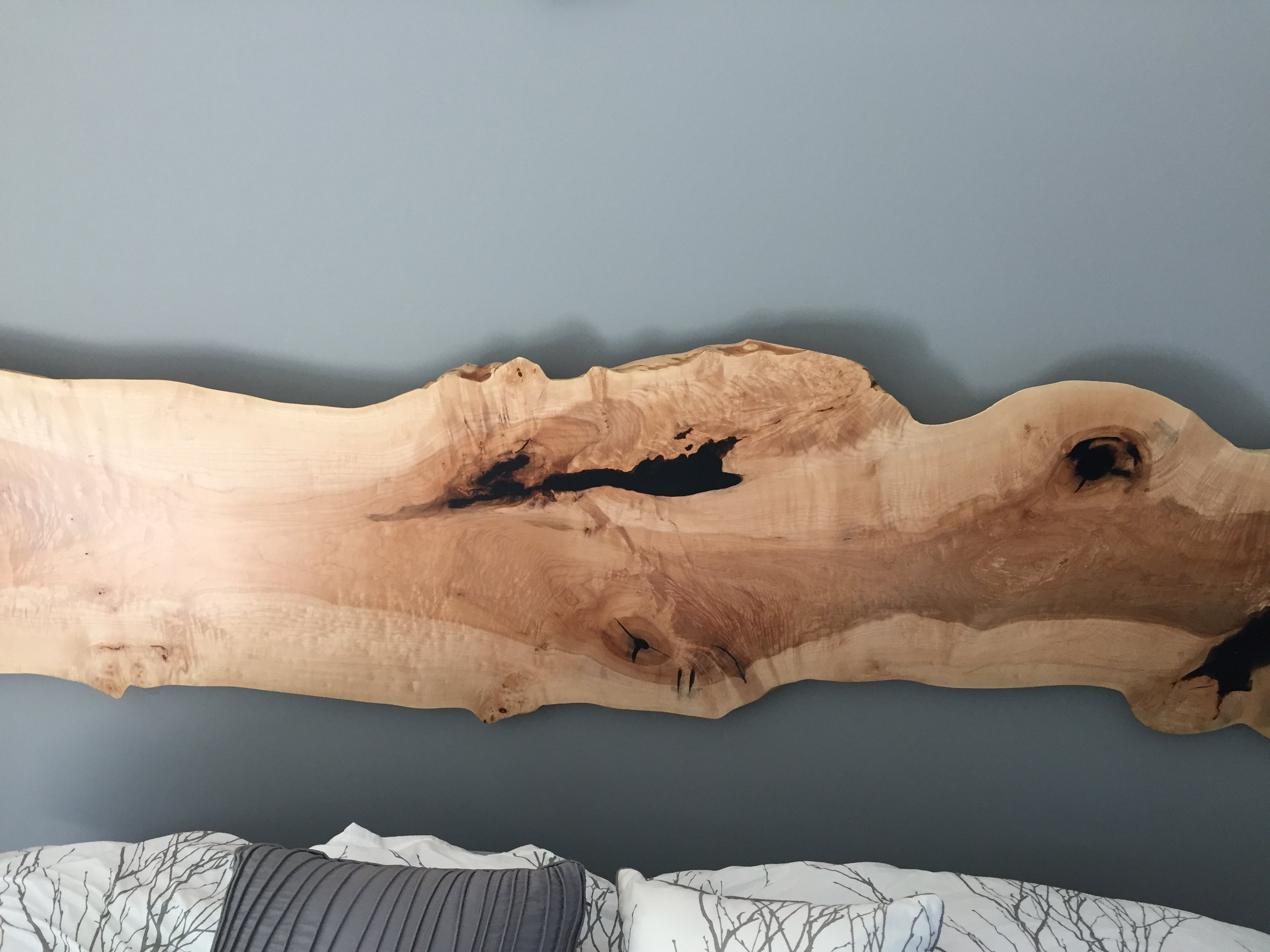 Maple King Headboard