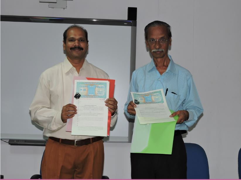 MOU with   Research Association for Economics & Finance, Chennai ( SRAEF)