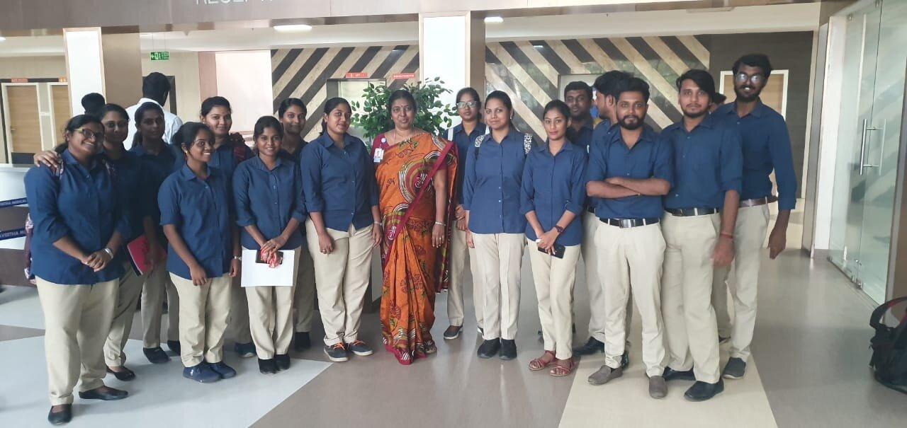 One week Hospital Training for II year MBA Hospital Management students at Saveetha Corporate Hospital, Thandalam