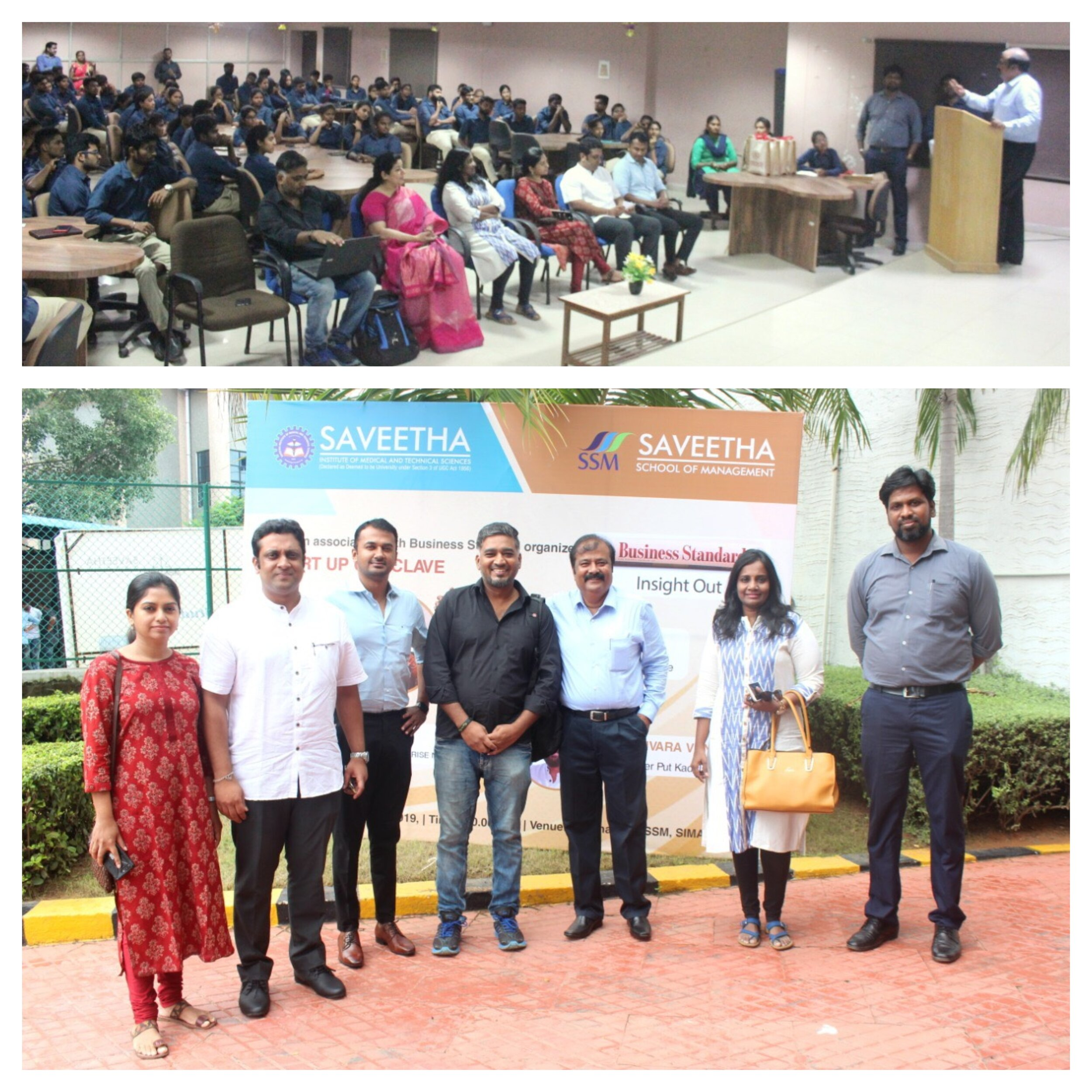 SSM conducted start up conclave on 18.10.2019..It was a great experience for our students and founders of start ups like Ms. Karhambari, Wedo, Mr. Sakthivel, Surprise Ninja and Mr. Harishvara, Put Kadalai gave their valuable insights to our students.
