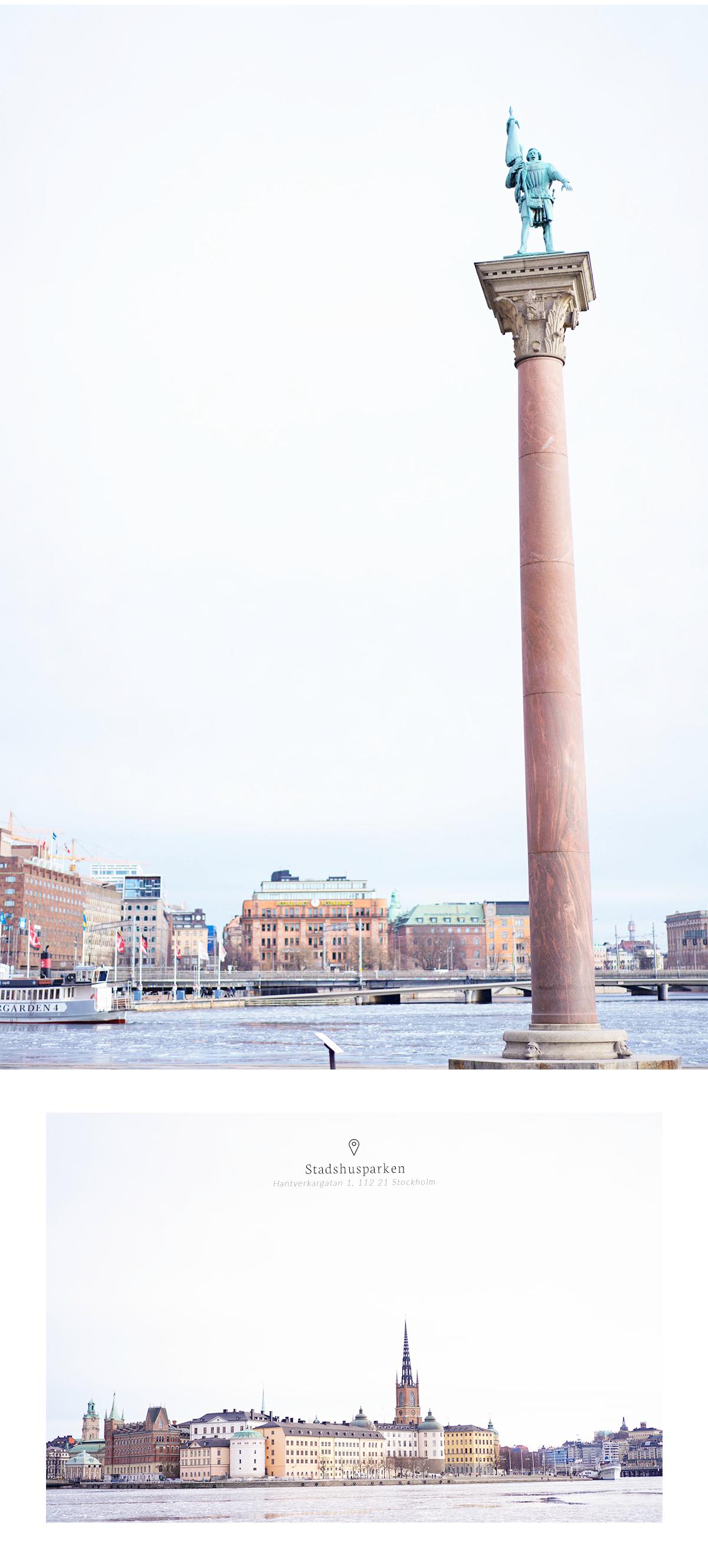 What to do in Stockholm, Sweden? Stadshuparken