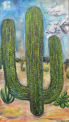 "<i>Hosh 'aditsahii</i>, oil on canvas, 60"" x 34"""