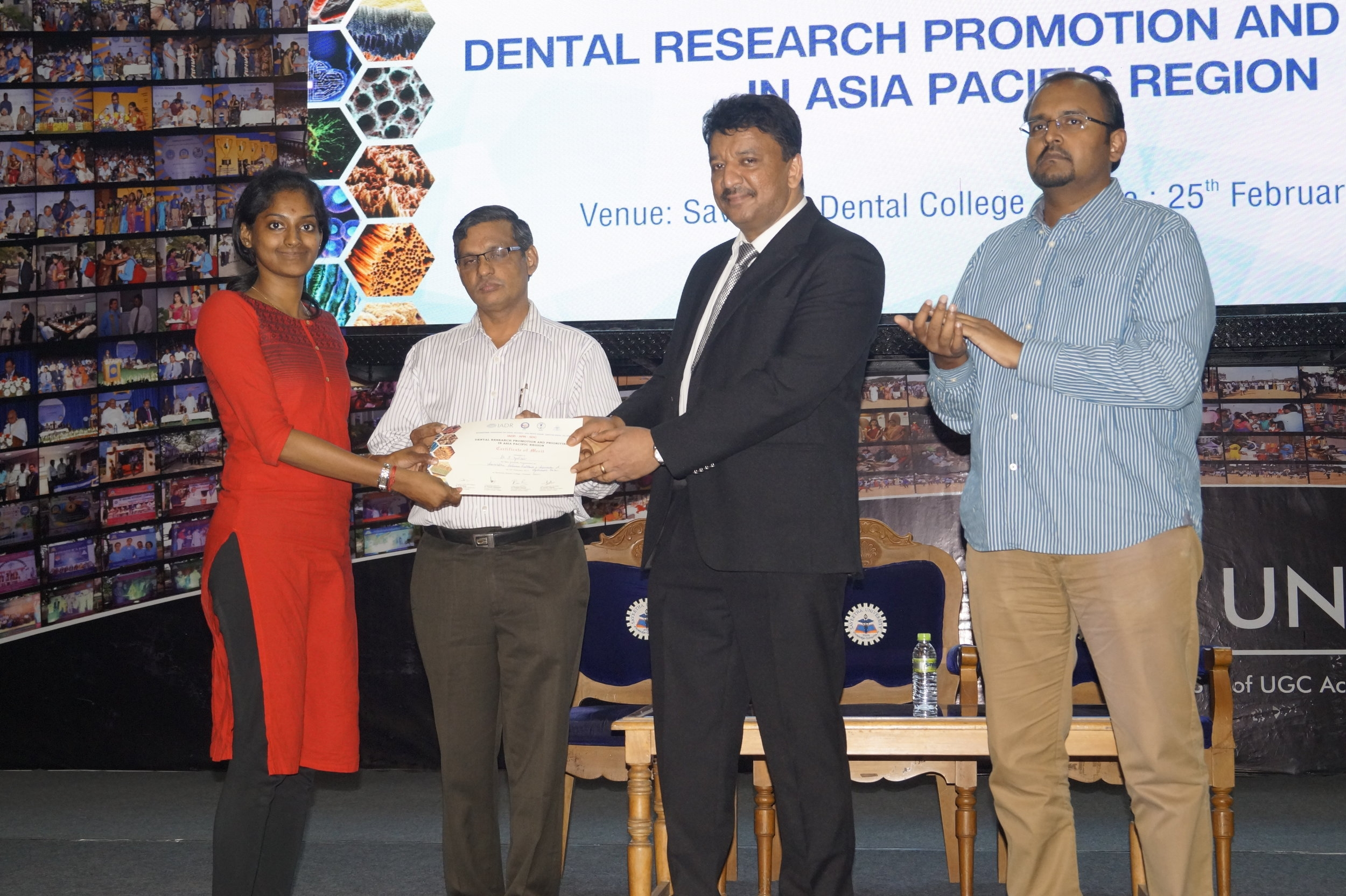 Best Poster - Dr.S. Vyshiali - II year Post GraduateTitle: Association between Halitosis and Depression - A systematic Review