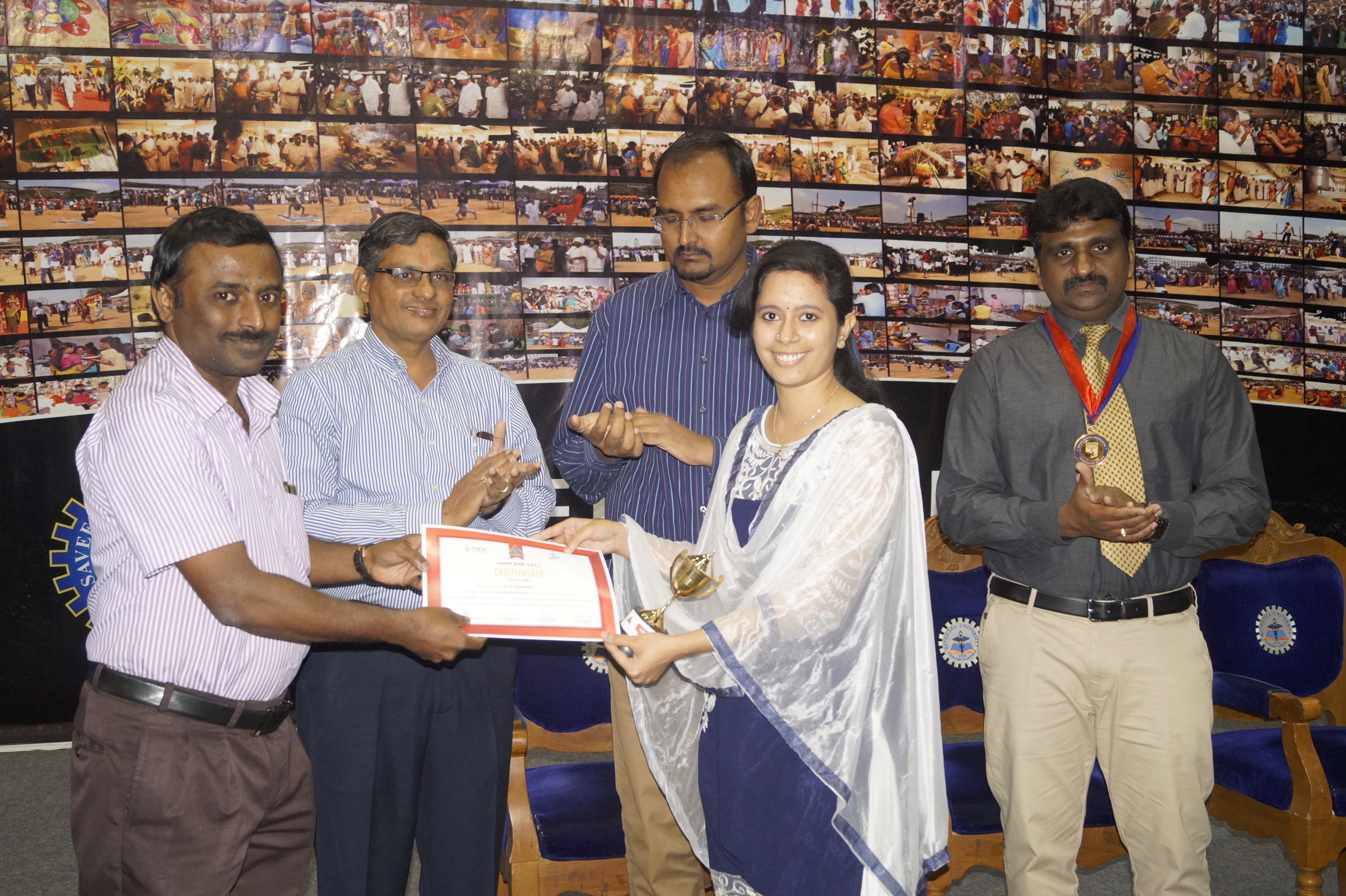 Best paper - Dr.P.Jayashri- III yr Post GraduateTitle: Seal and Heal rather than Drill and Fill