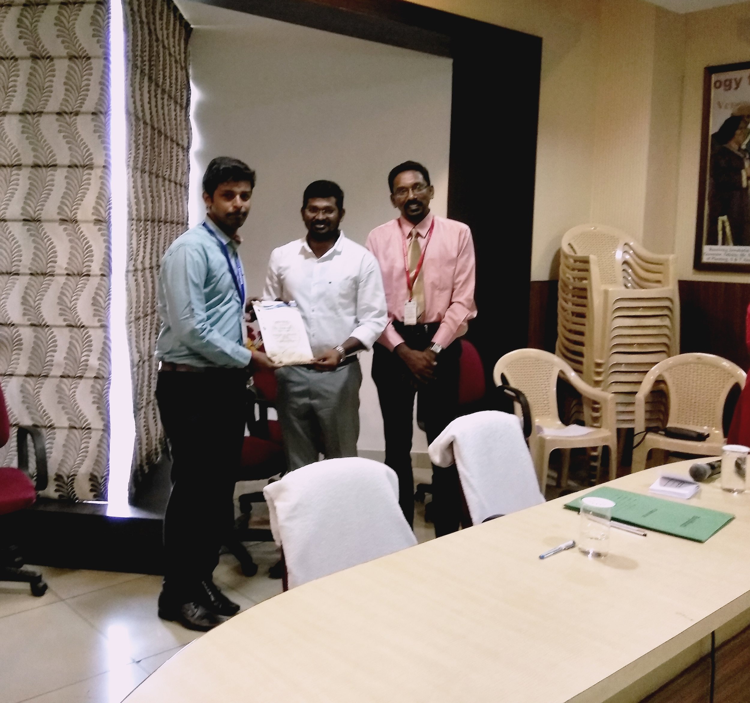 Best Paper - Dr. Shiva Shankar - III year Post GraduateTitle: Oral health related quality of life and its relationship to oral health status among fisherman population in Pondichery - A Cross Sectional study.