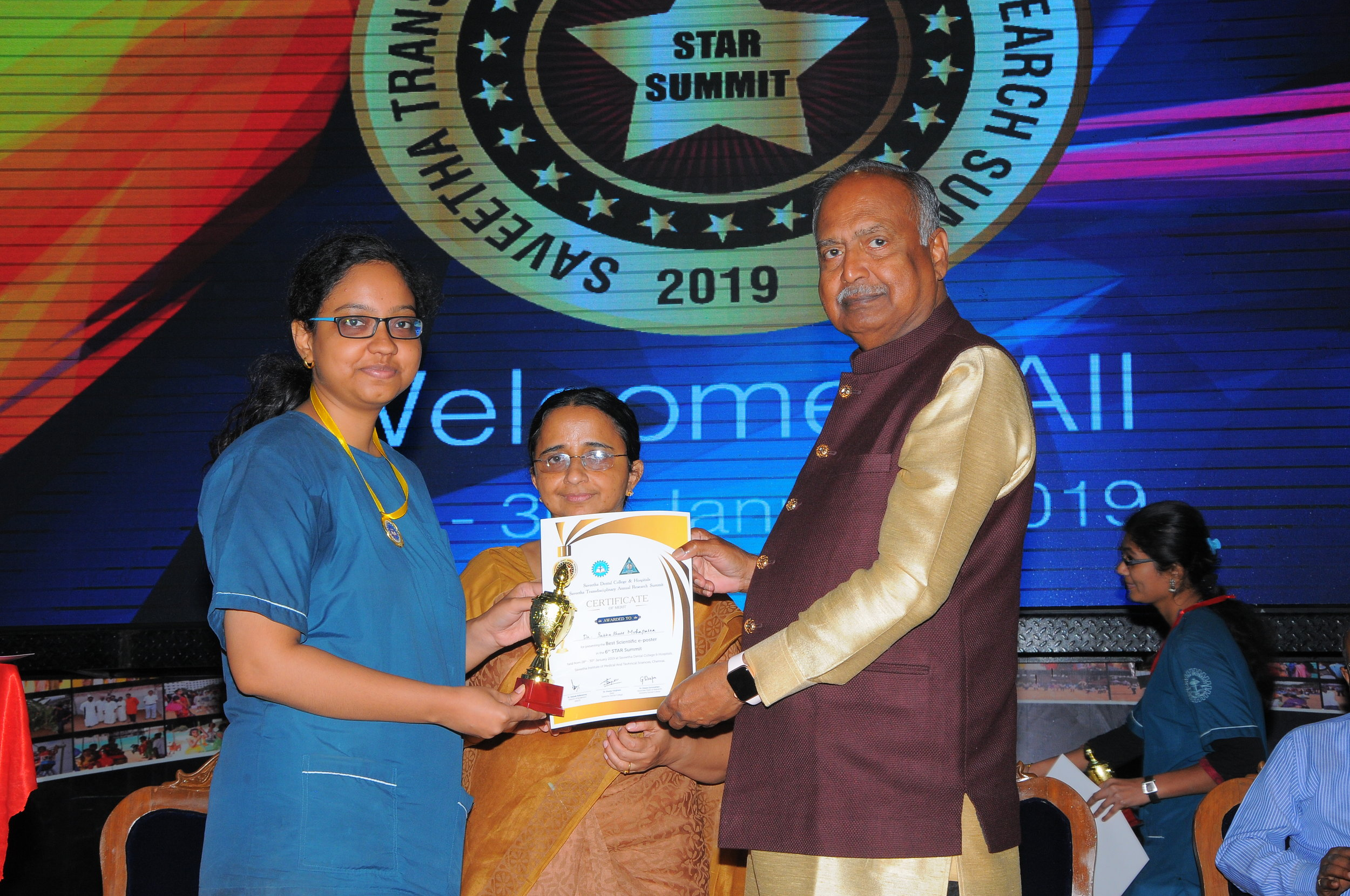 Best Paper - I PlaceDr.Subhashree .M - II Yr Post GraduateTitle: Assessment of micro hardness of enamel caries like lesions after treatment with novomin, biomin and remin pro containing tooth pastes