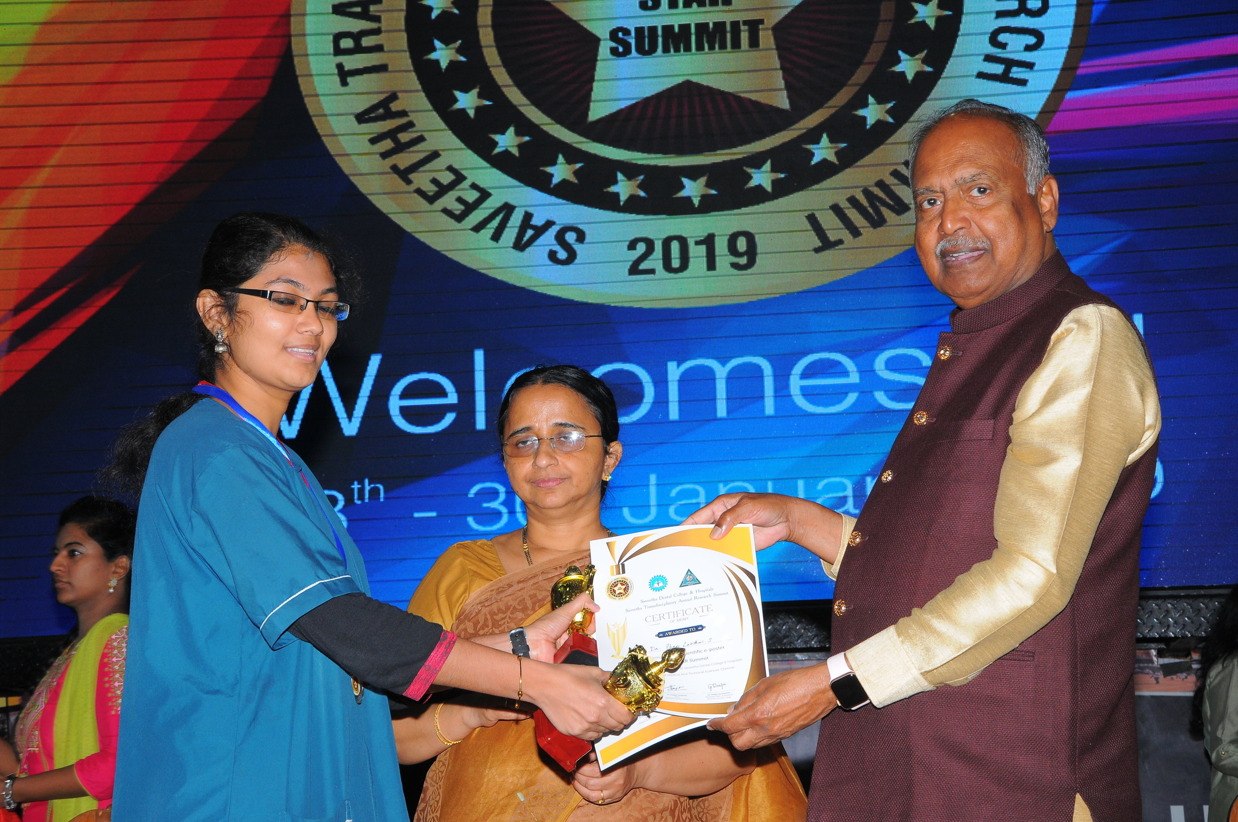 Best Paper - II PlaceDr.Shree Lakshmi - II Yr Post GraduateTitle: Evaluating the effectiveness of microwave decontamination and ultra violet disinfection of tooth brushes, a comparative study
