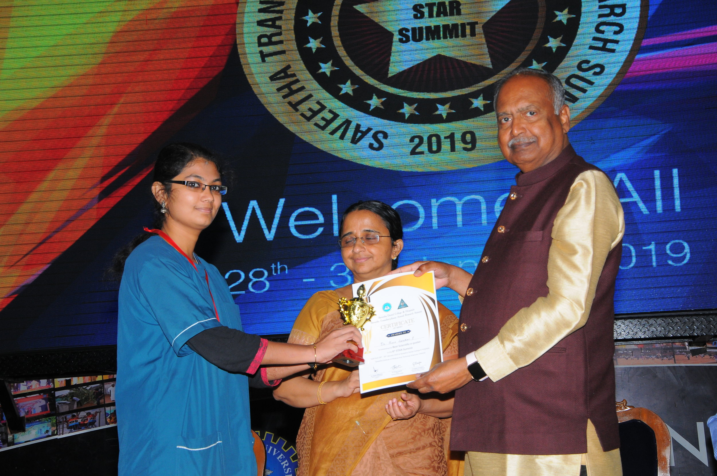 Best Paper - III PlaceDr.Shree Lakshmi - II Yr Post GraduateTitle: Comparison between the effectiveness of pit and fissure sealant and topical fluoride among 6 to 18 year old children, a systematic review