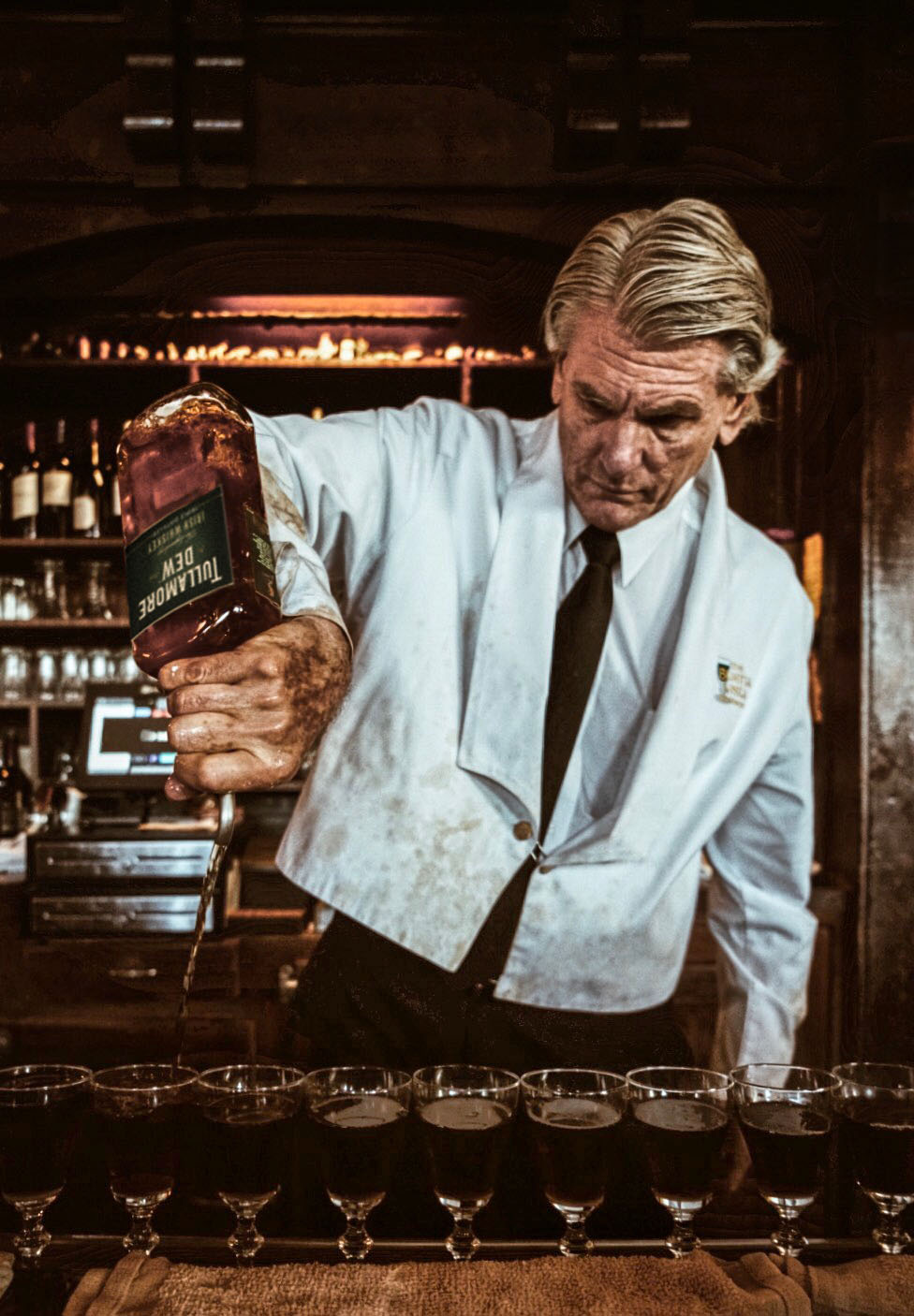 Paul Nolan, Bartender at The Buena Vista Cafe, San Francisco, CA