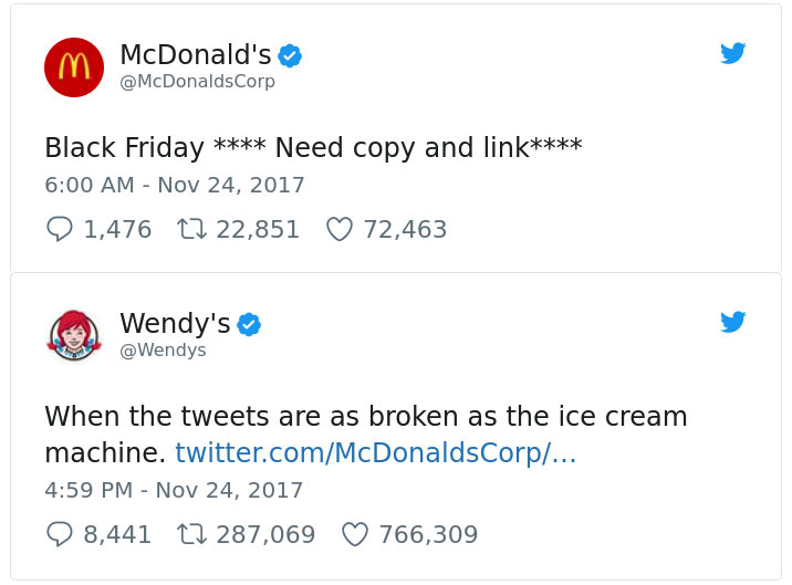 @Wendys Twitter