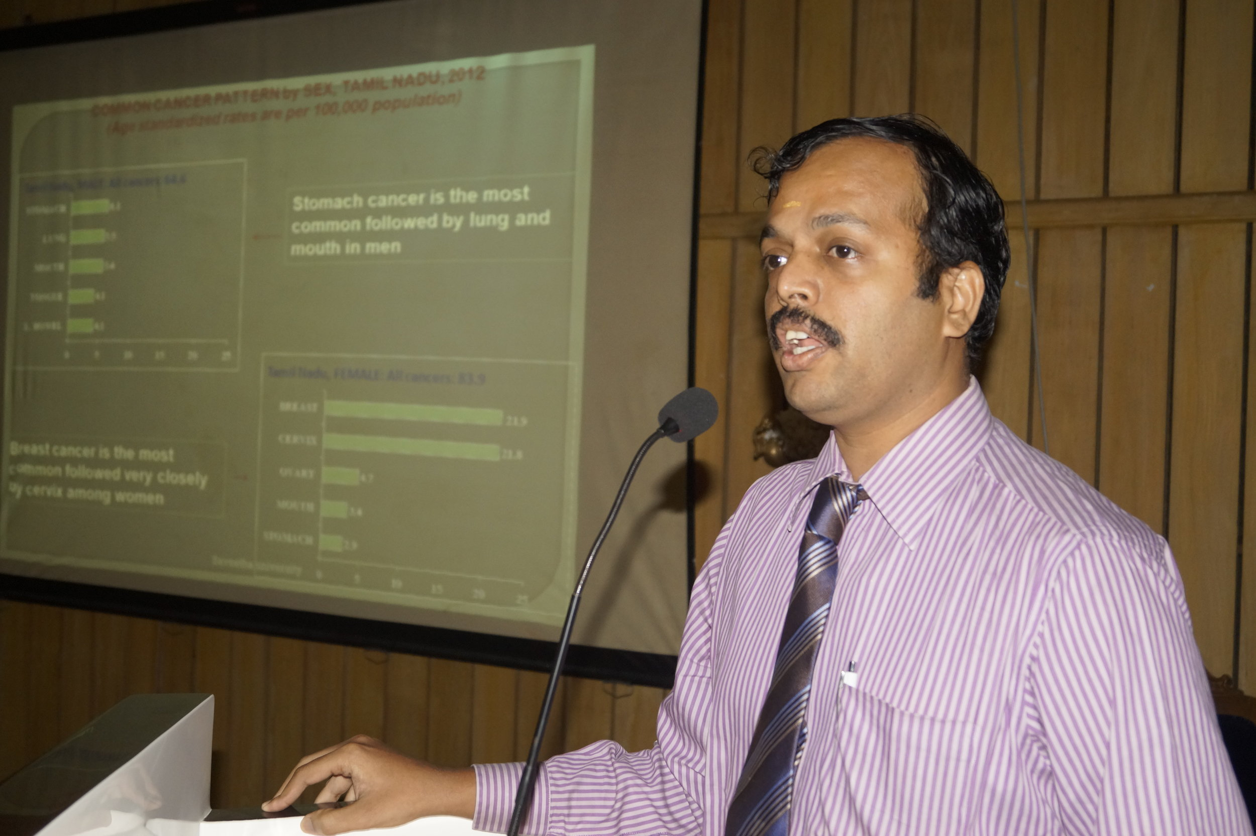 Resource person, Dr.A.C.SenthilKumar, Oncosurgeon, SMCH.