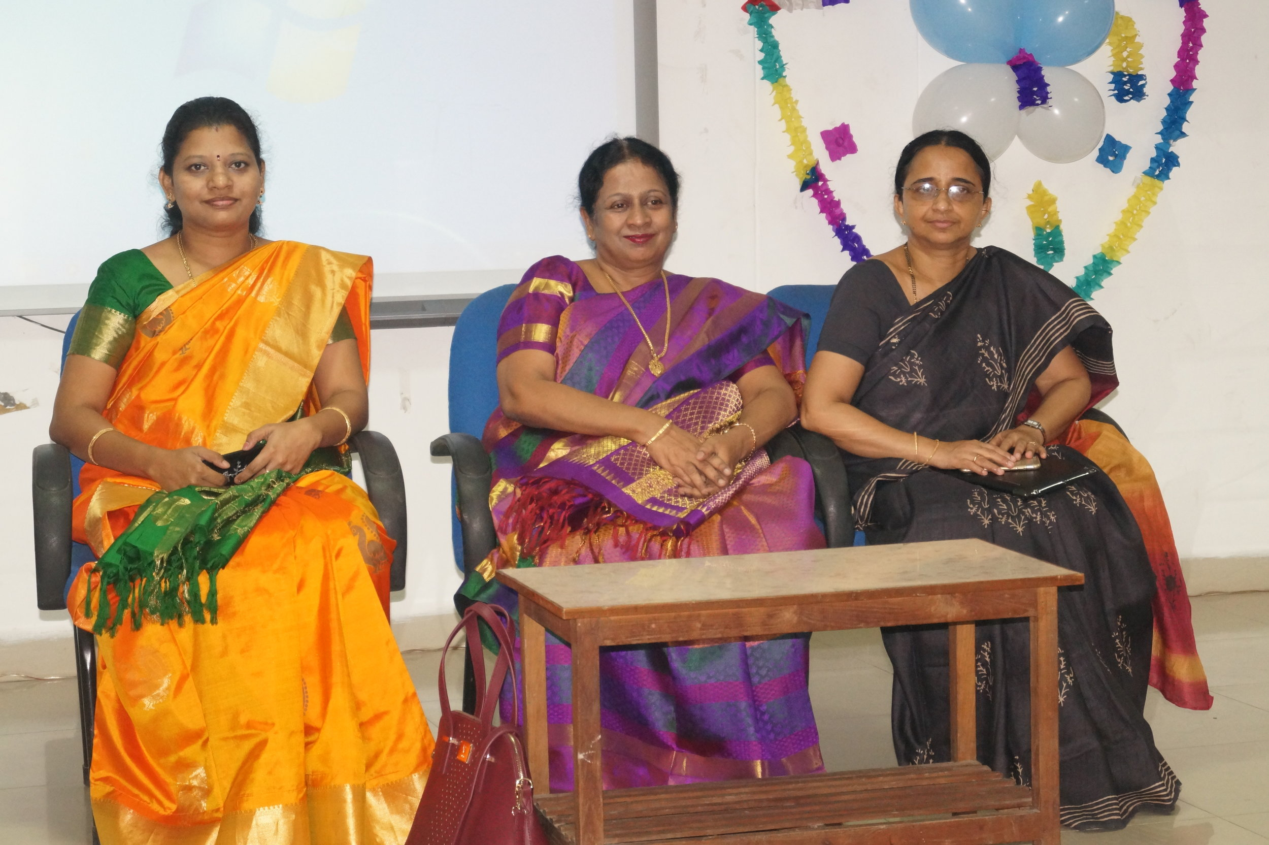 Dr.Sheeja varghese, Dr. Thanka, Dr M.P. Brundha during the inaugural session