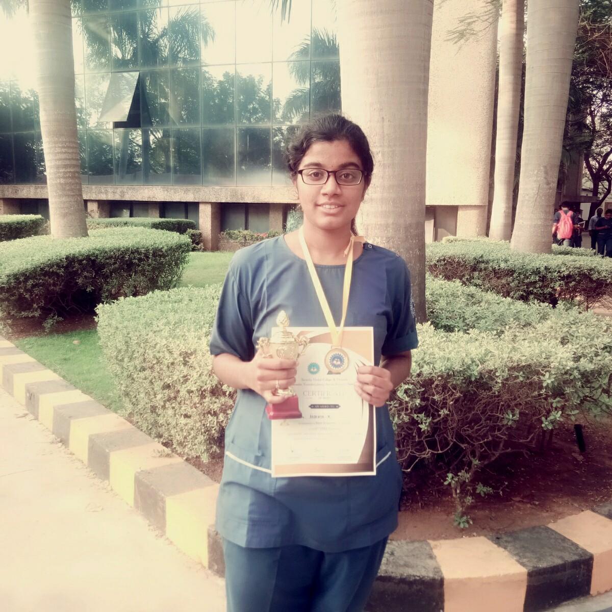 Akshaya II BDS student won the BEST RESEARCH AWARD in STAR SUMMIT 2019
