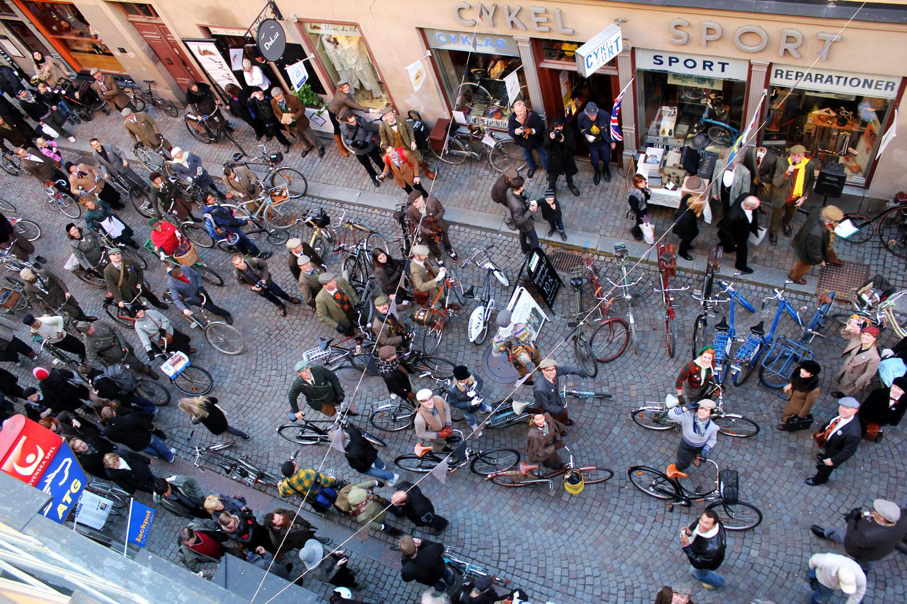 Foto från Bike in Tweed 2011