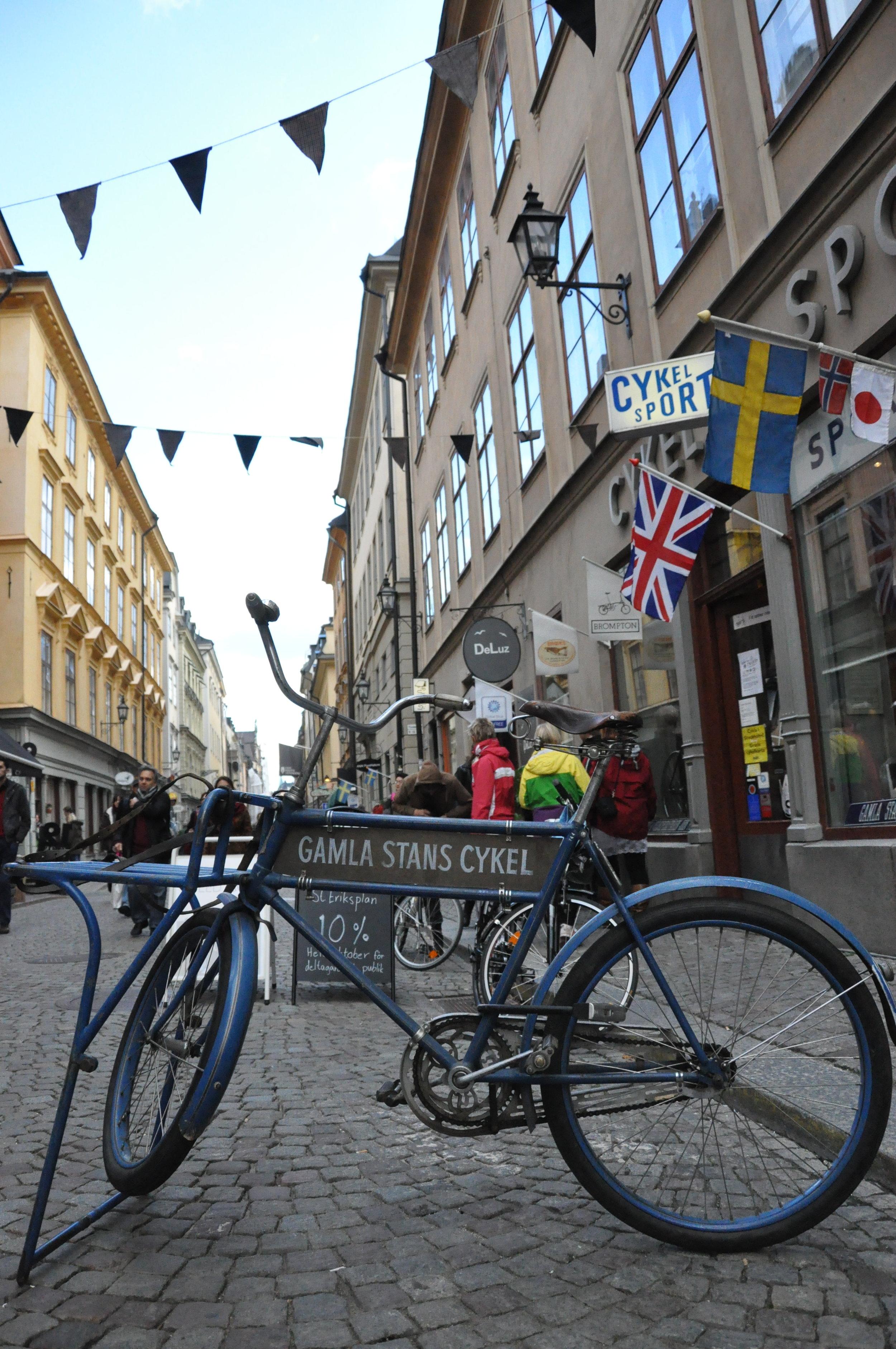 Exteriör vid Stora Nygatan 20