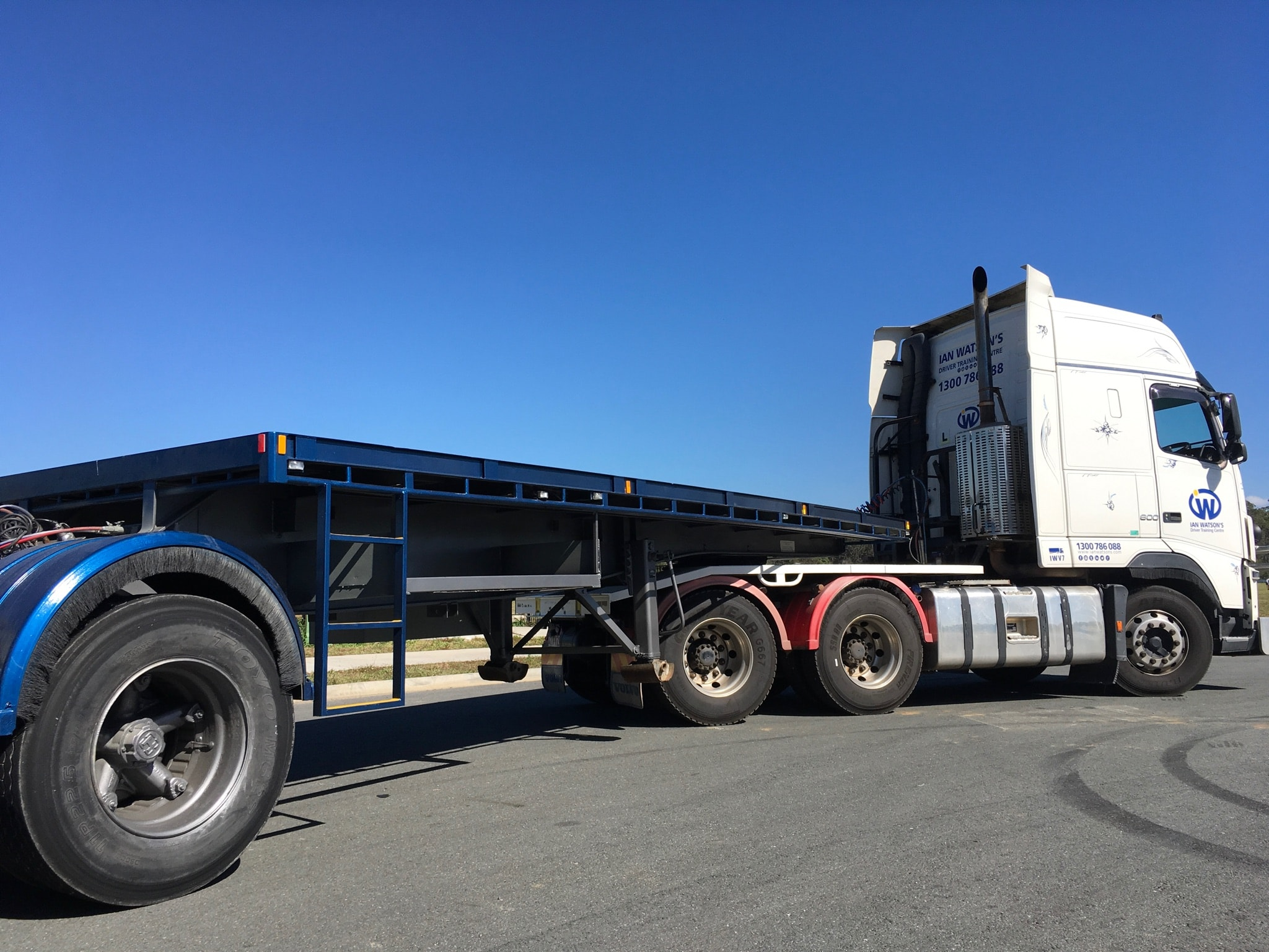 B Double Licences - Fast and Cheap at Ian Watson's Truck Driving School