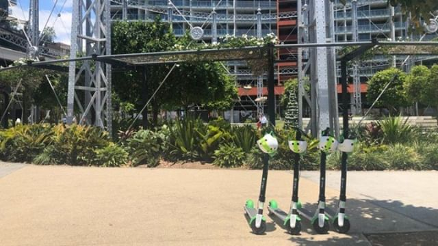 Hundreds of electric scooters appear on Brisbane streets⠀ https://buff.ly/2XDxh7j
